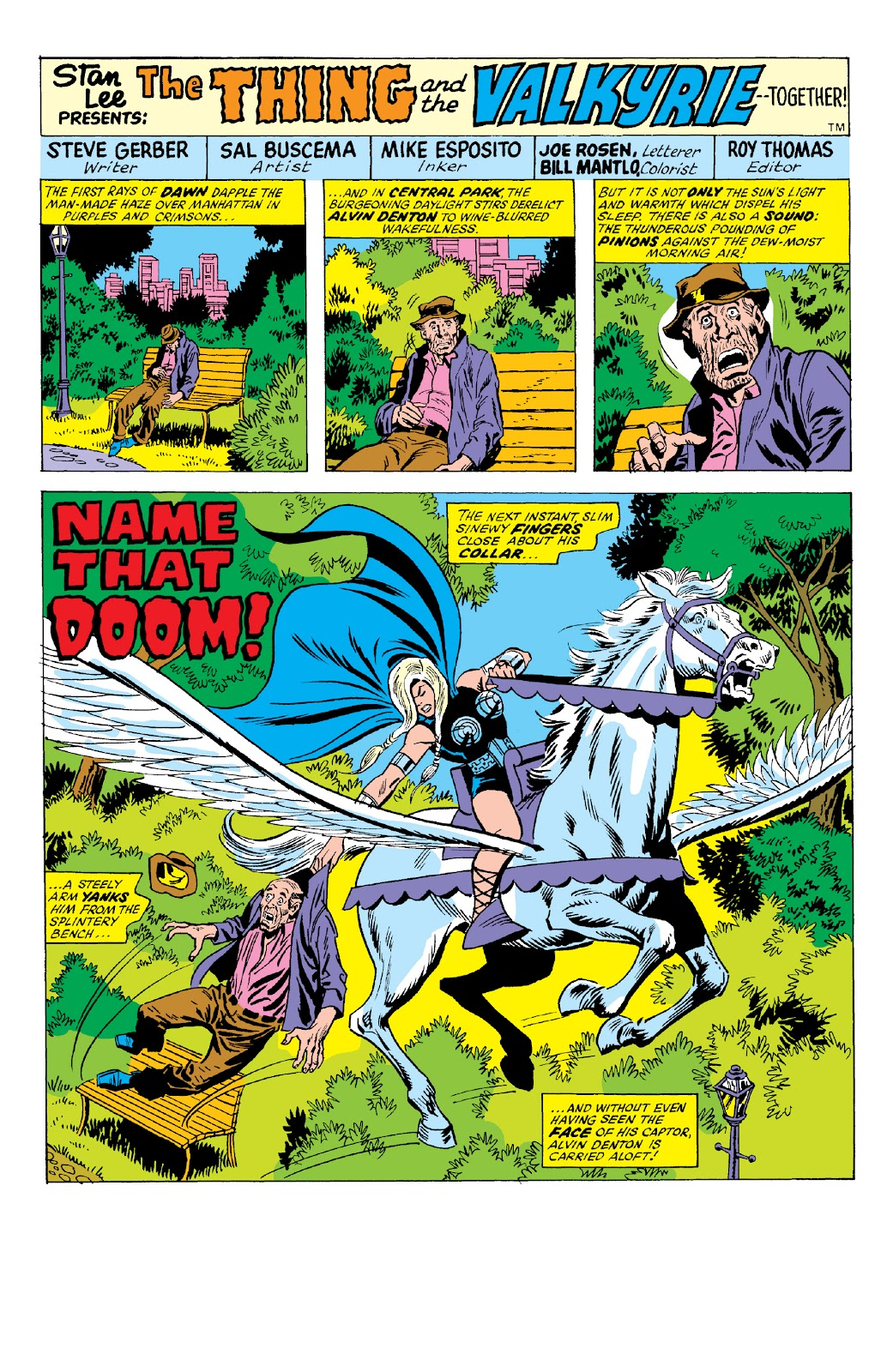 Read online Marvel Two-In-One Epic Collection: Cry Monster comic -  Issue # TPB (Part 2) - 62