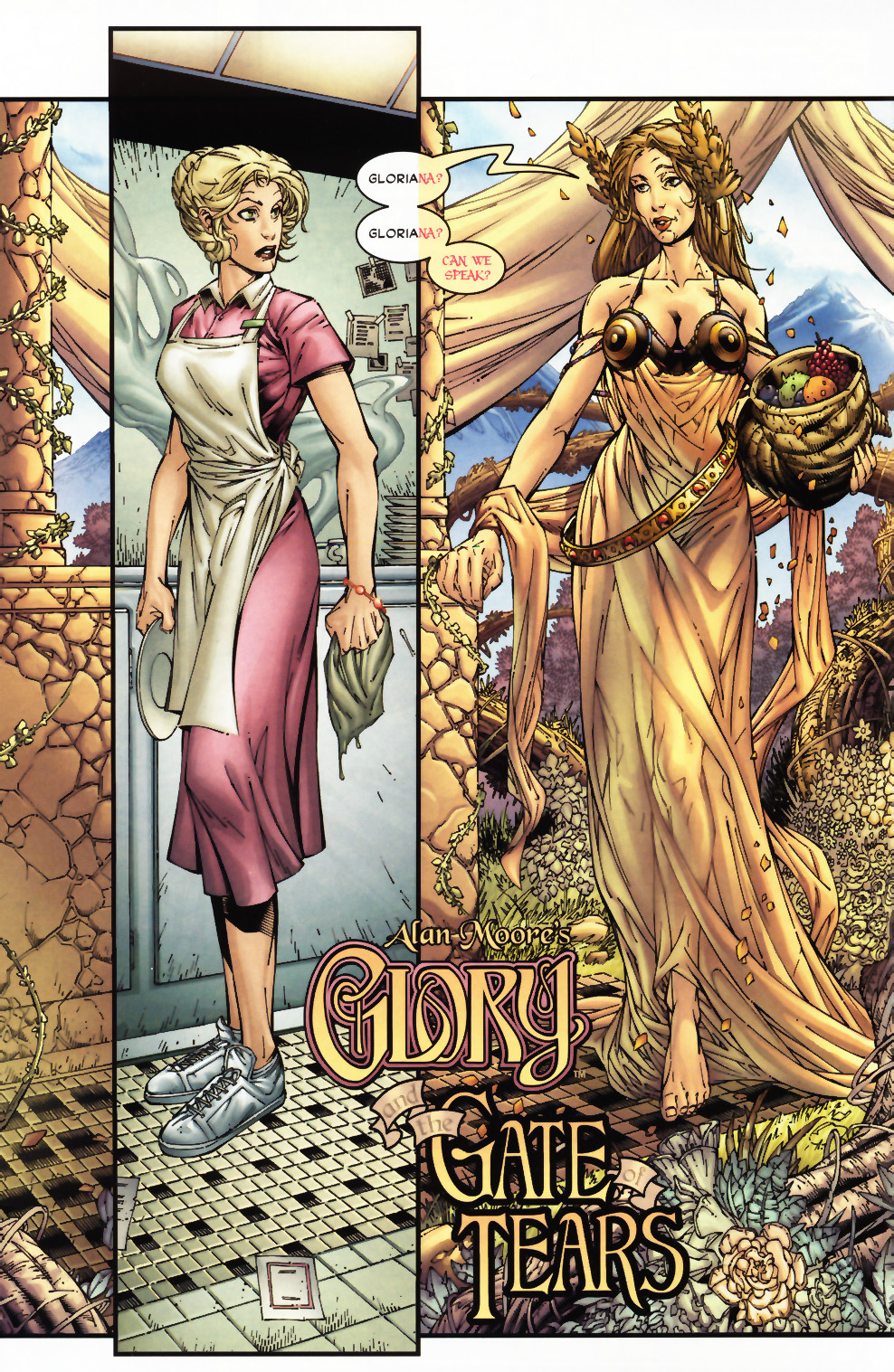 Read online Alan Moore's Glory comic -  Issue #0 - 3