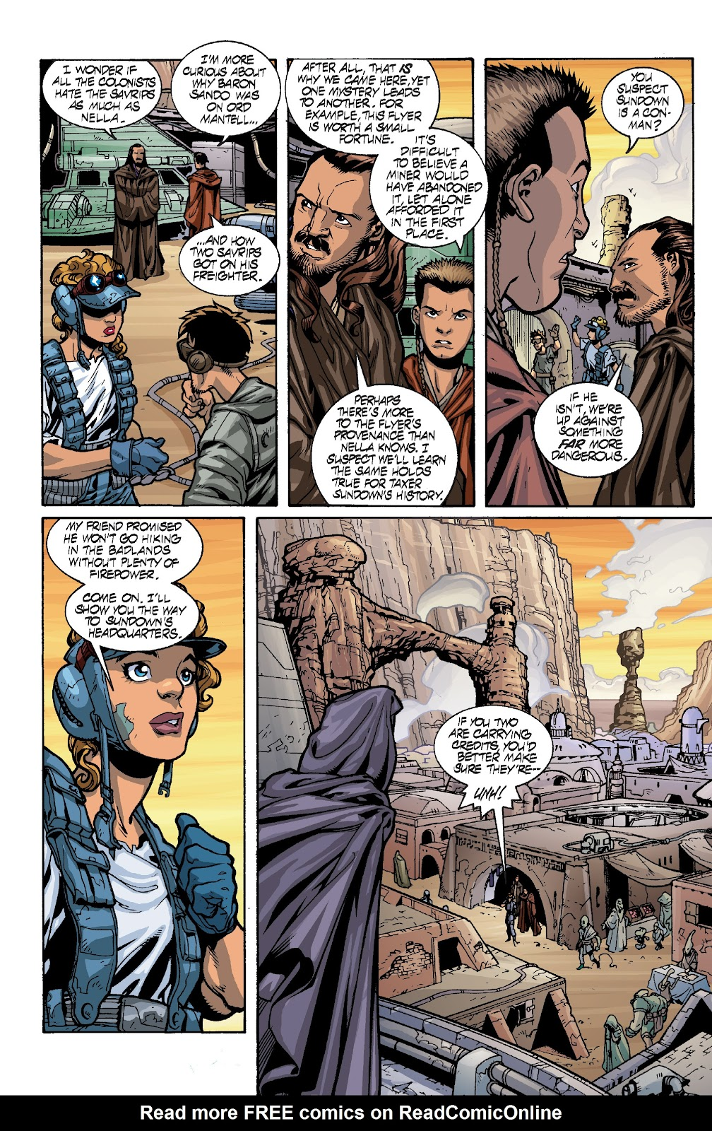 Read online Star Wars Legends: Rise of the Sith - Epic Collection comic -  Issue # TPB 1 (Part 4) - 10