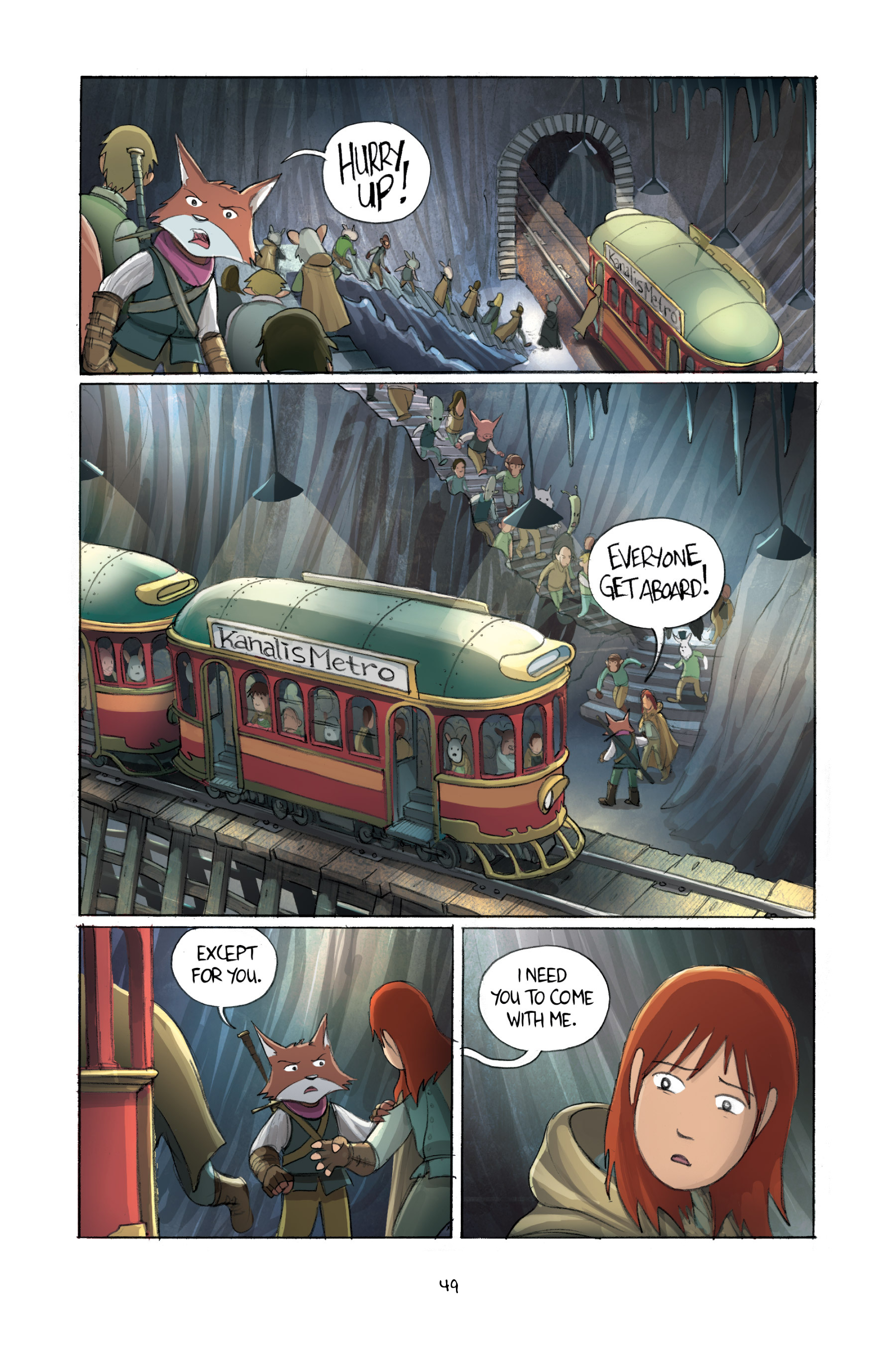 Read online Amulet comic -  Issue #2 - 51