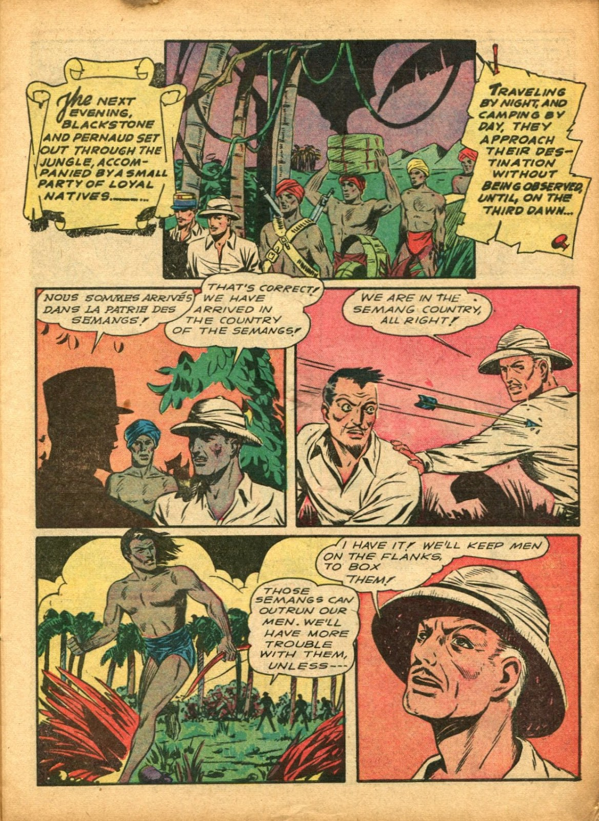 Read online Super-Magician Comics comic -  Issue #5 - 13