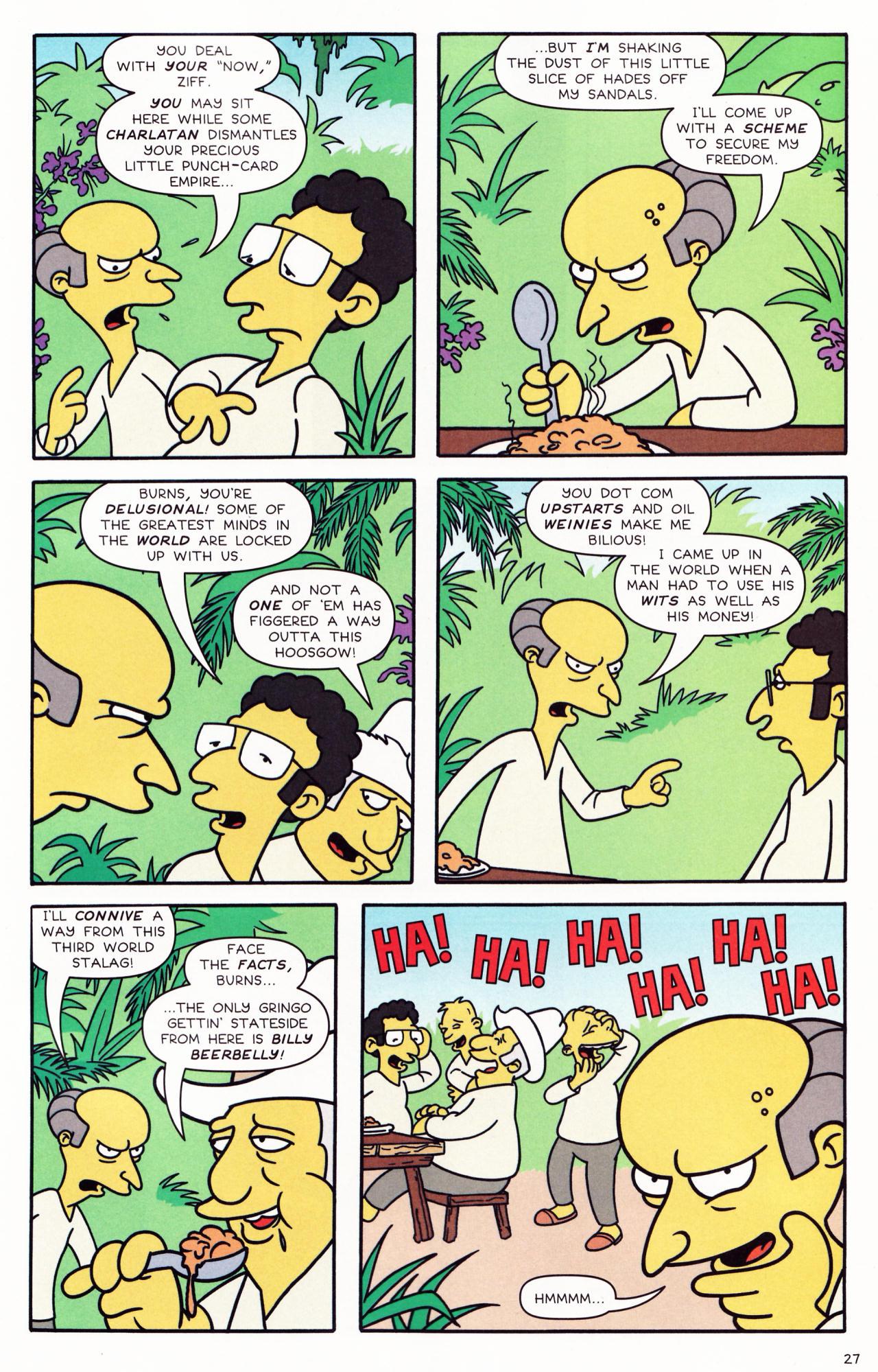 Read online Simpsons Comics comic -  Issue #132 - 23