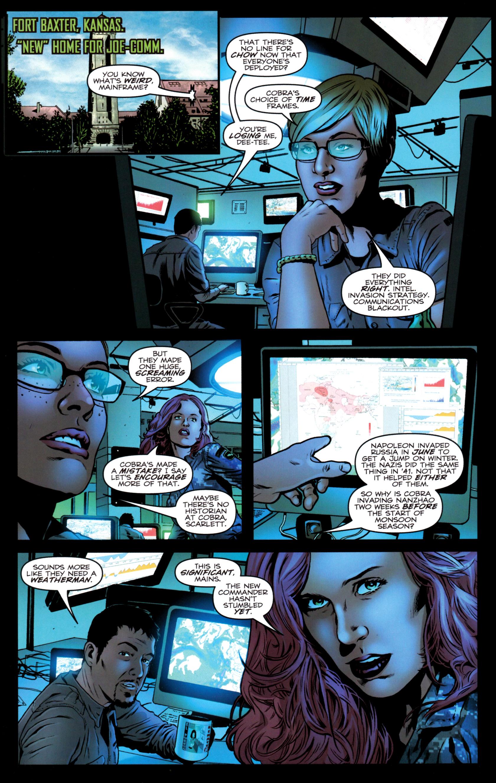 Read online G.I. Joe: Snake Eyes comic -  Issue #9 - 23