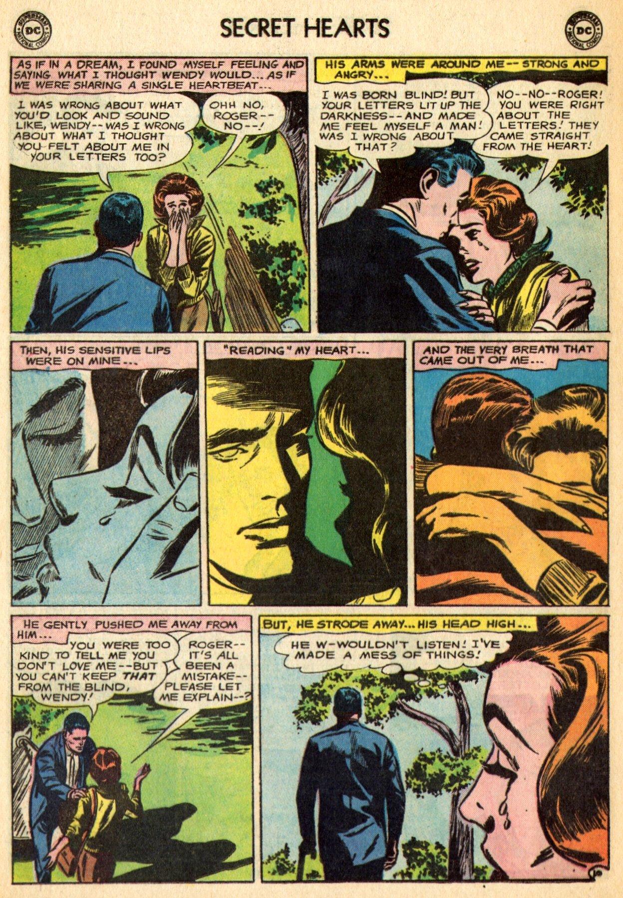 Read online Secret Hearts comic -  Issue #96 - 32
