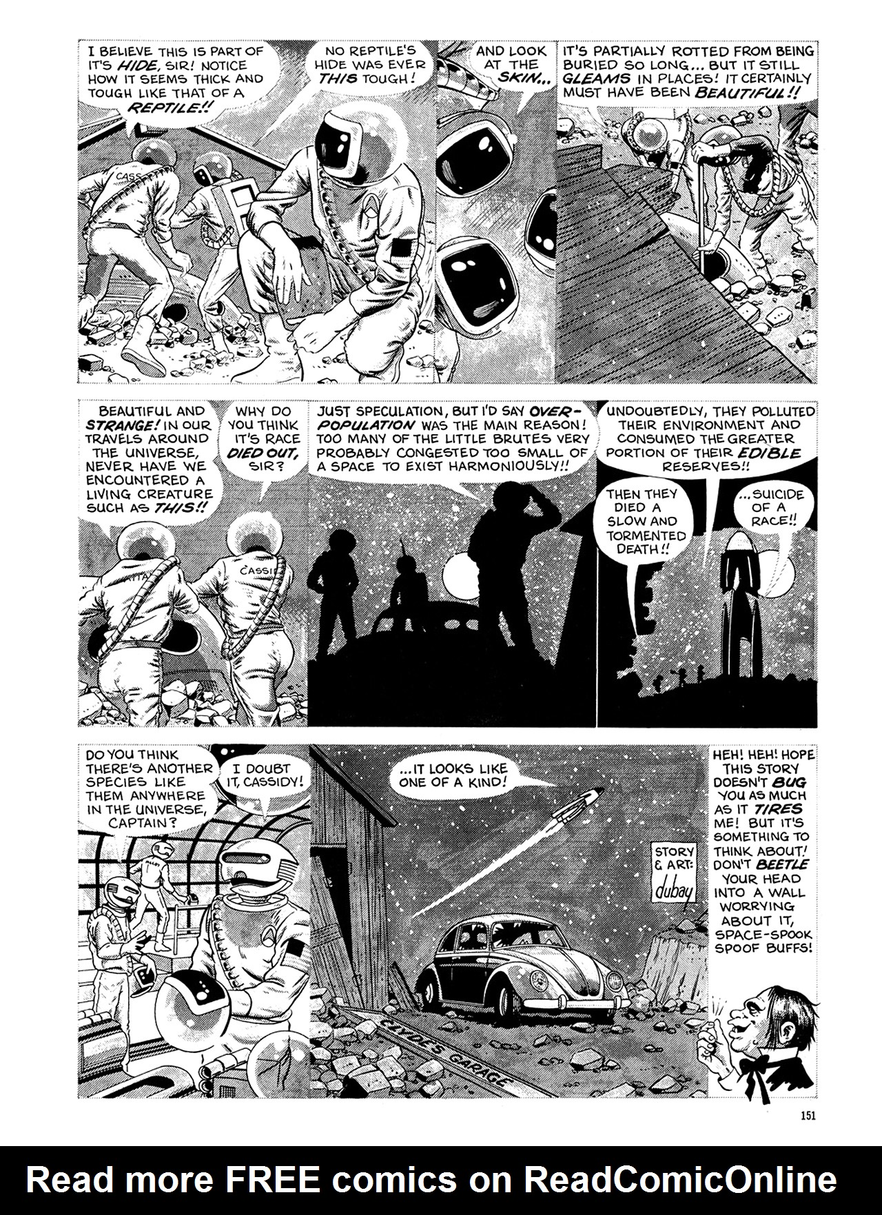 Read online Eerie Archives comic -  Issue # TPB 6 - 151