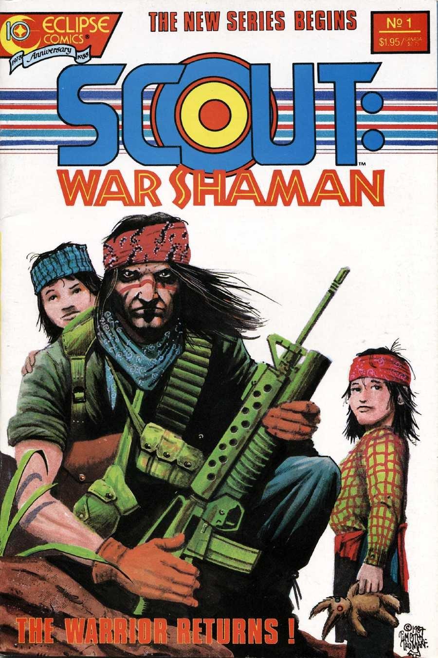 Scout: War Shaman 1 Page 1