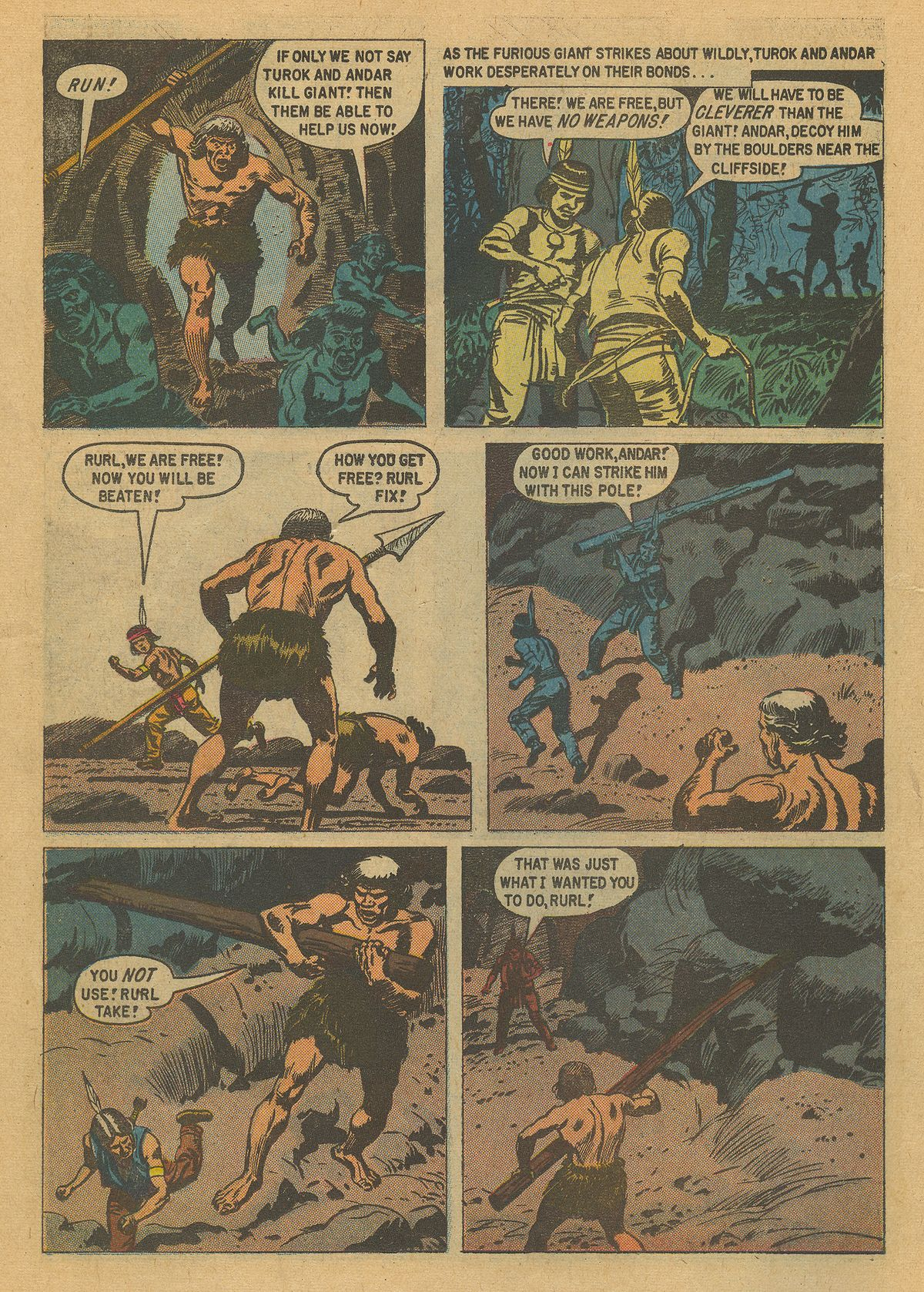 Read online Turok, Son of Stone comic -  Issue #16 - 14