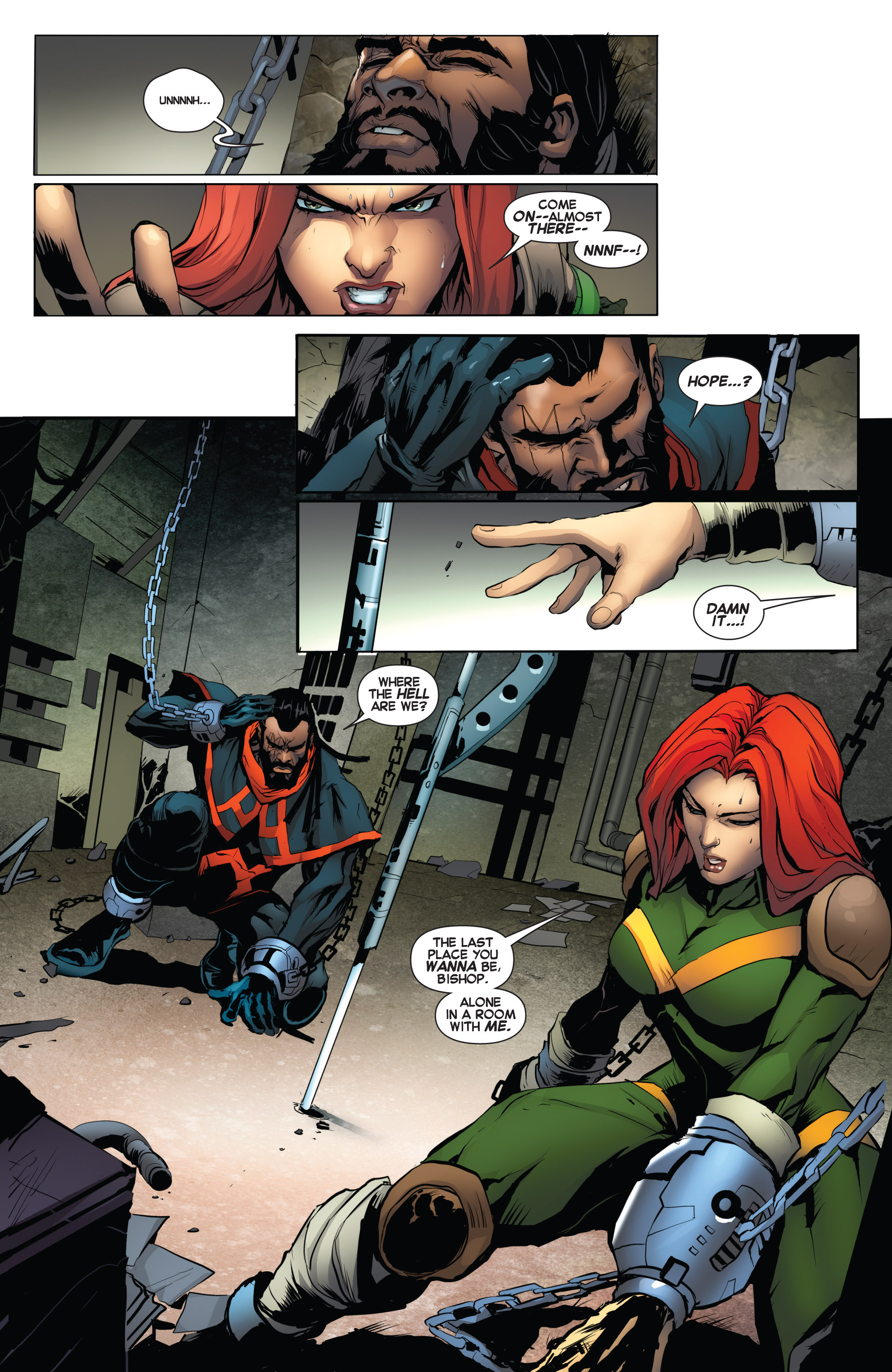Read online Uncanny X-Force (2013) comic -  Issue #16 - 7