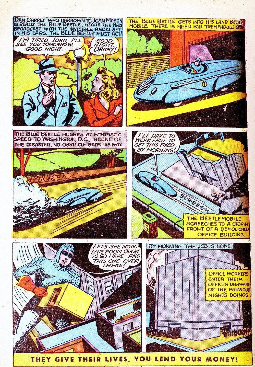 The Blue Beetle issue 31 - Page 4