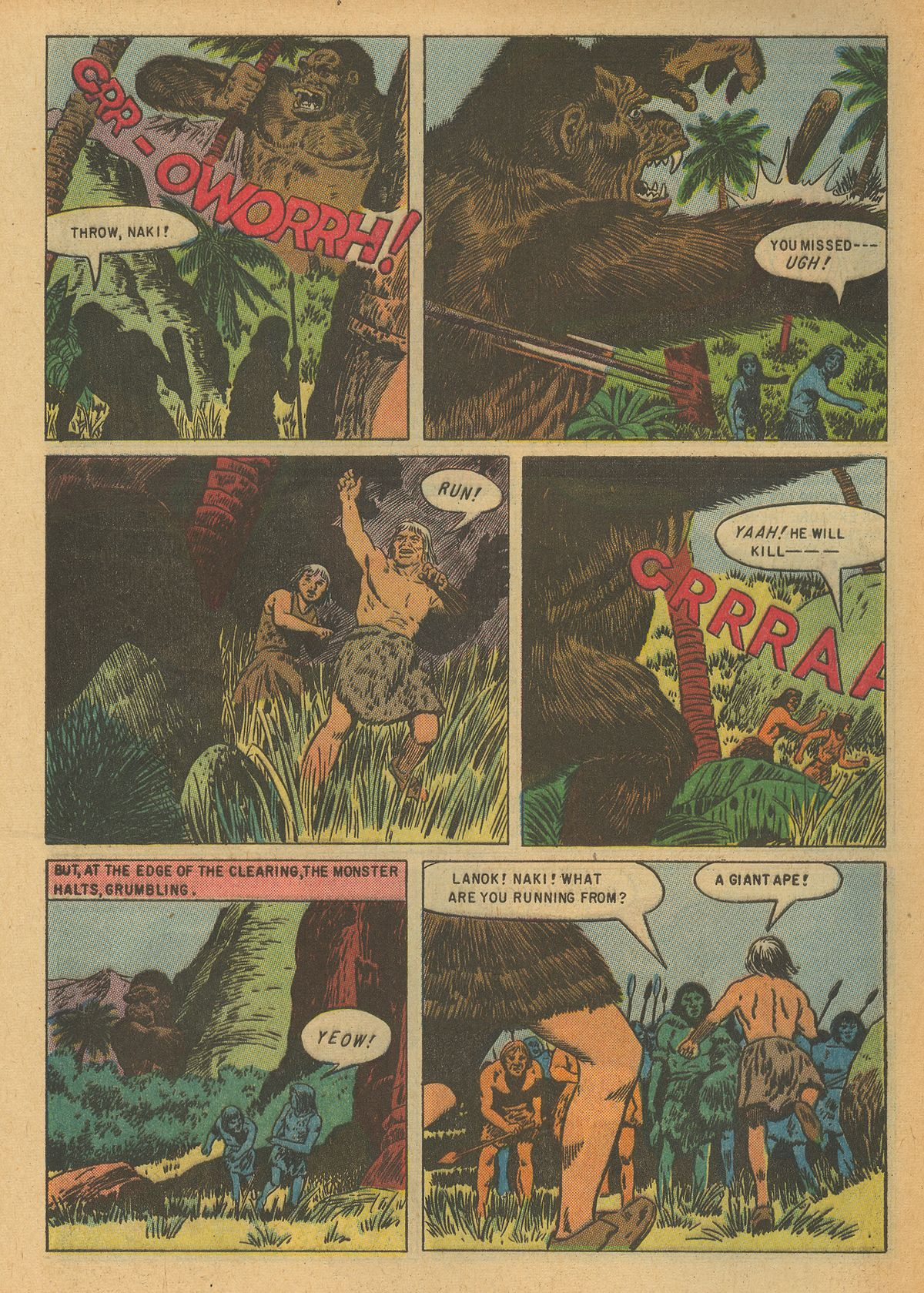 Read online Turok, Son of Stone comic -  Issue #6 - 8