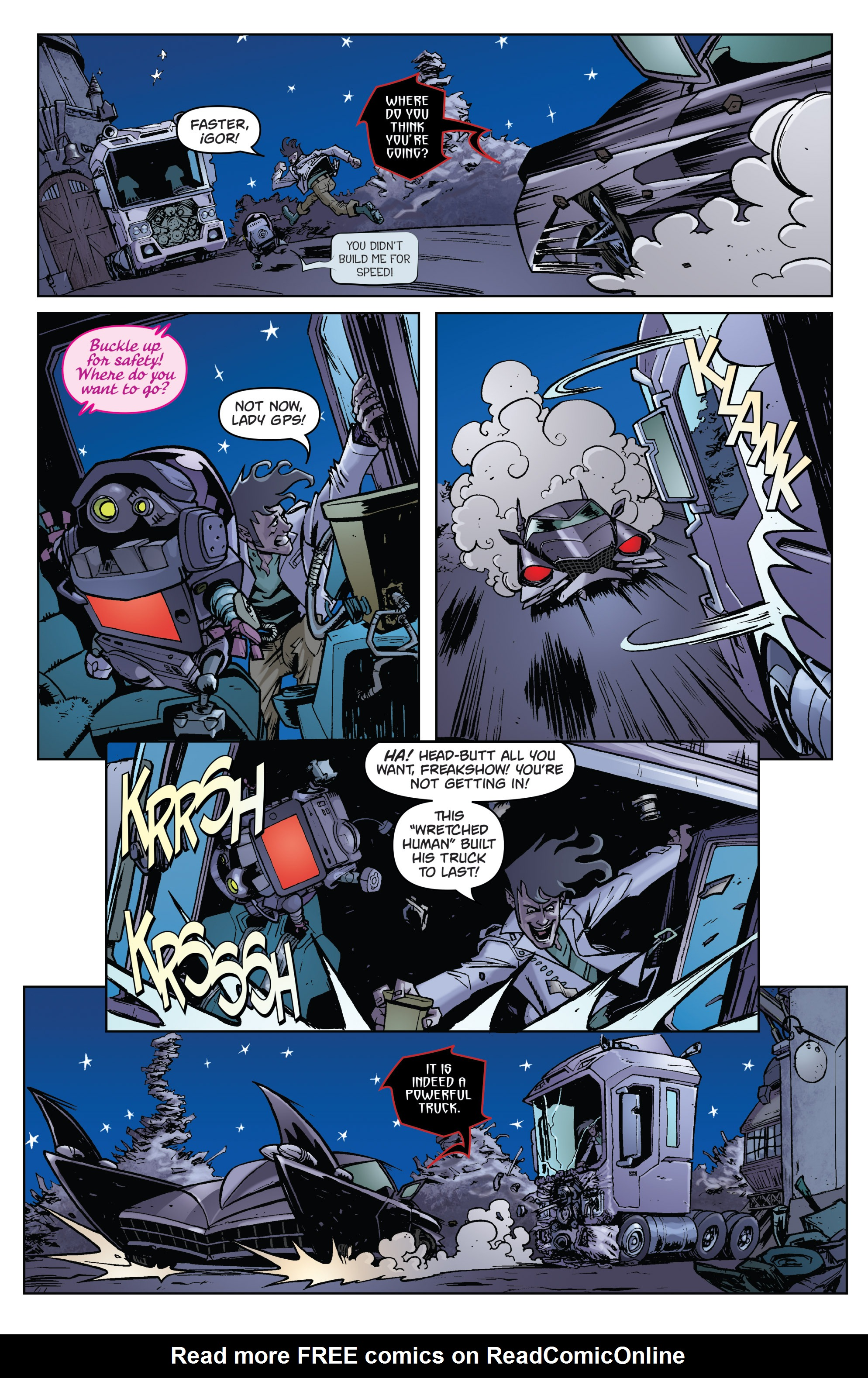 Read online Monster Motors comic -  Issue # Full - 16