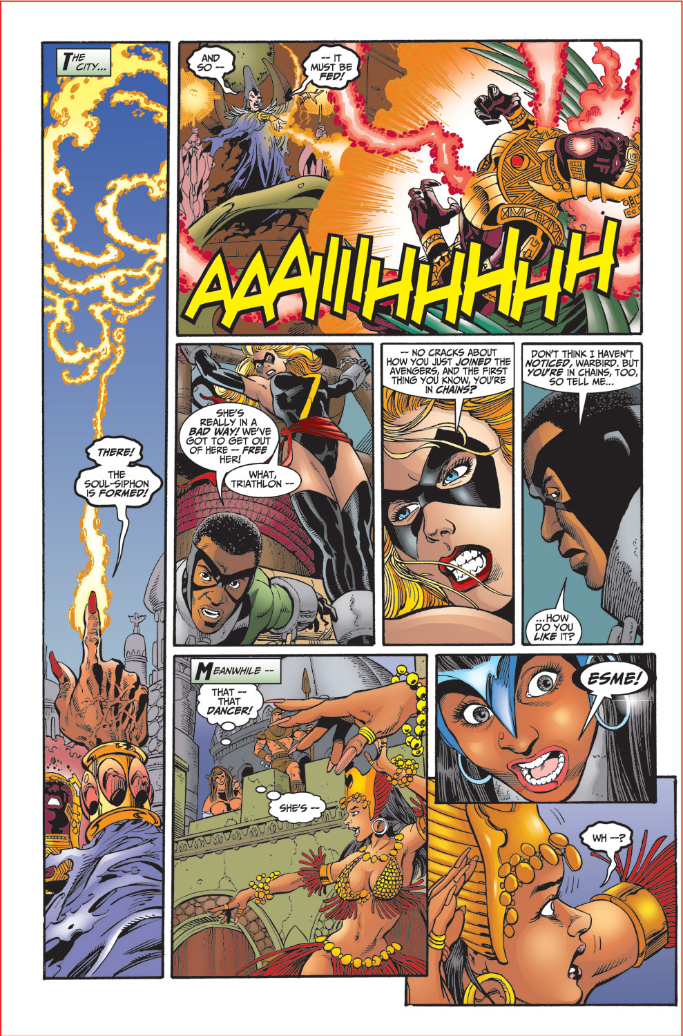 Read online Avengers (1998) comic -  Issue #30 - 7