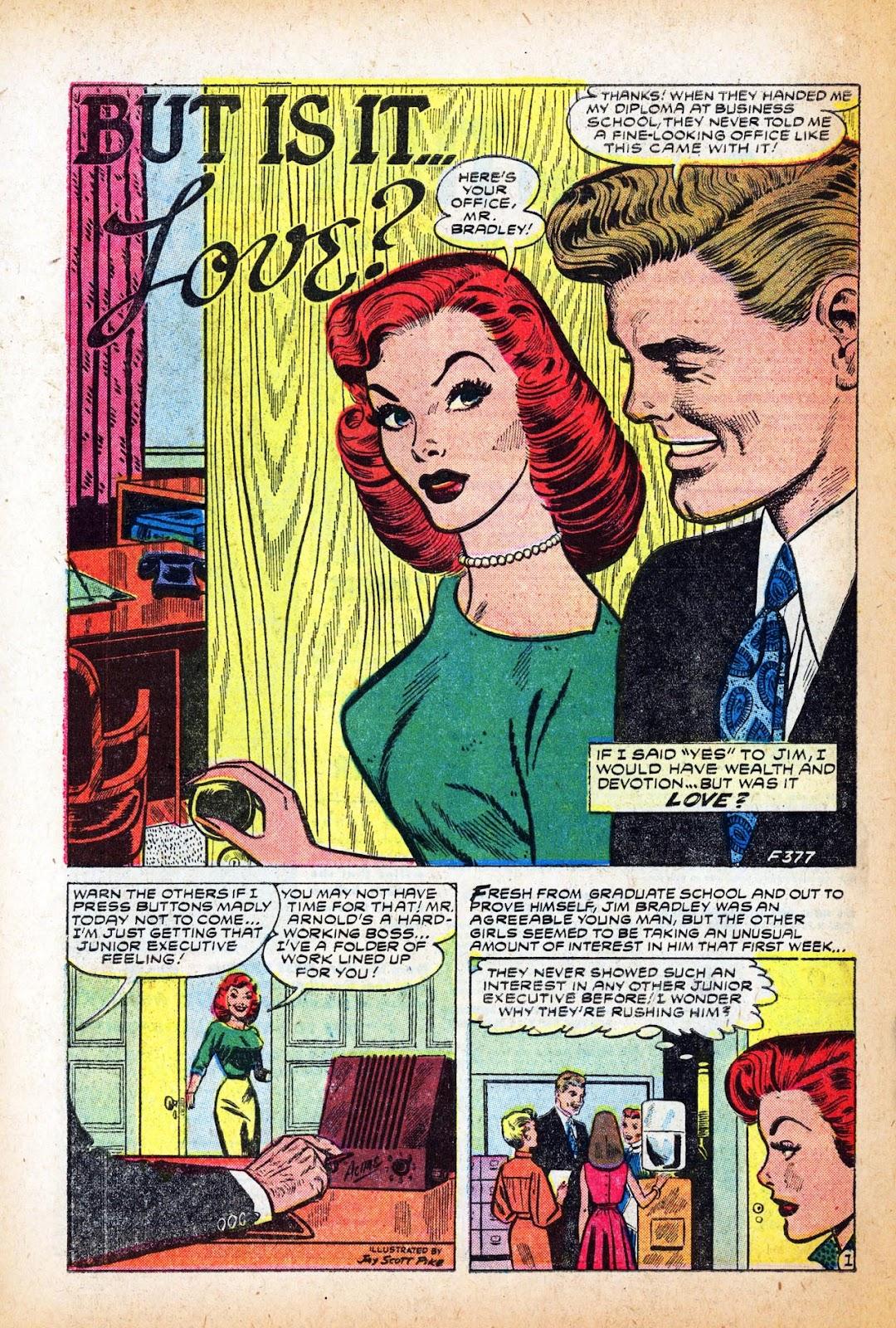 Love Romances (1949) issue 47 - Page 10