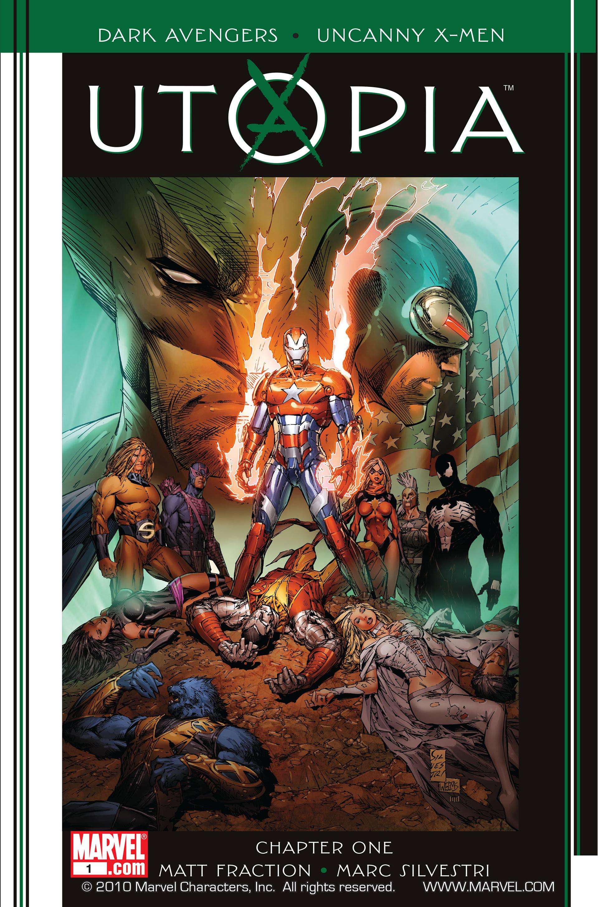 Dark Avengers/Uncanny X-Men: Utopia TPB Page 1
