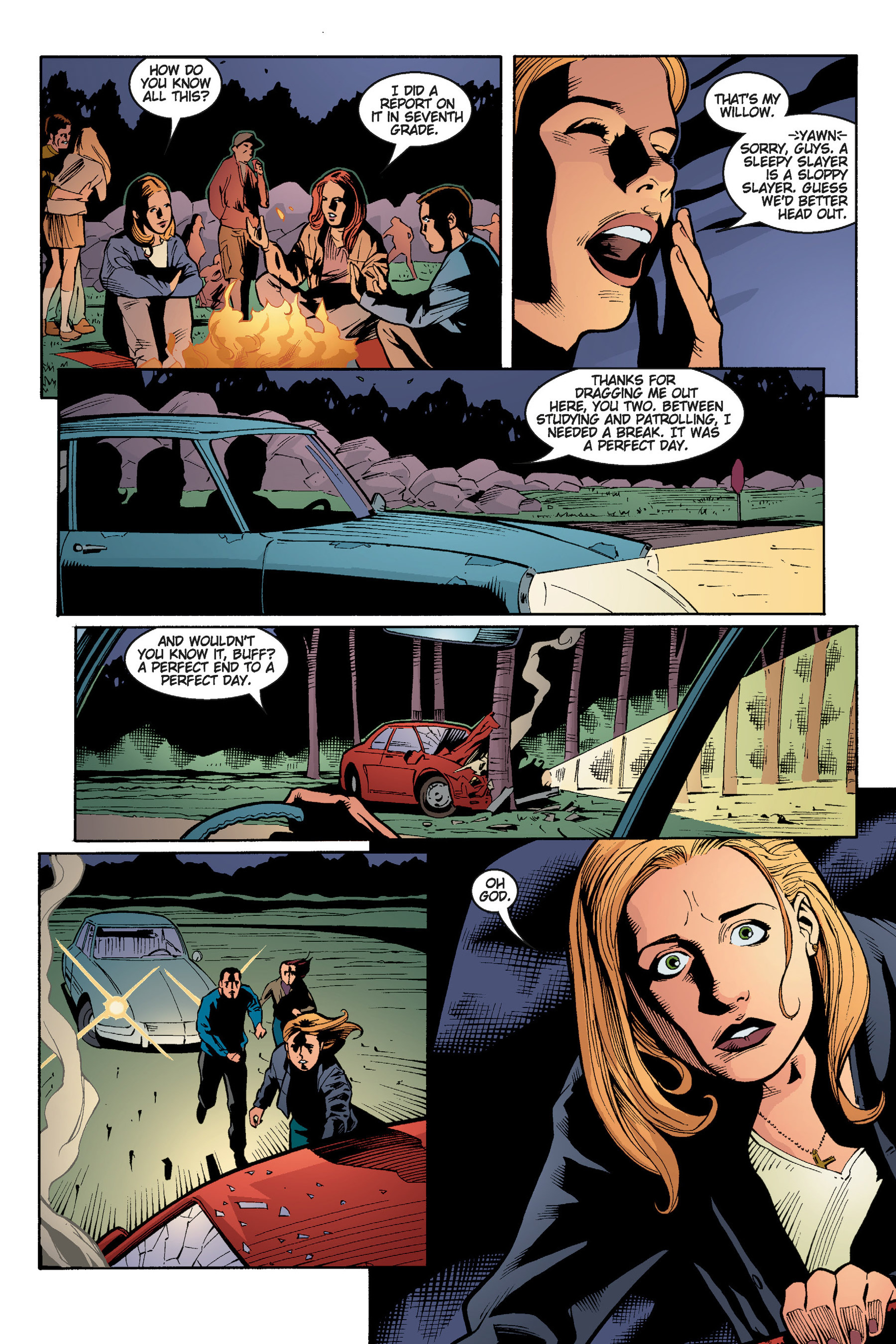 Read online Buffy the Vampire Slayer: Omnibus comic -  Issue # TPB 5 - 123