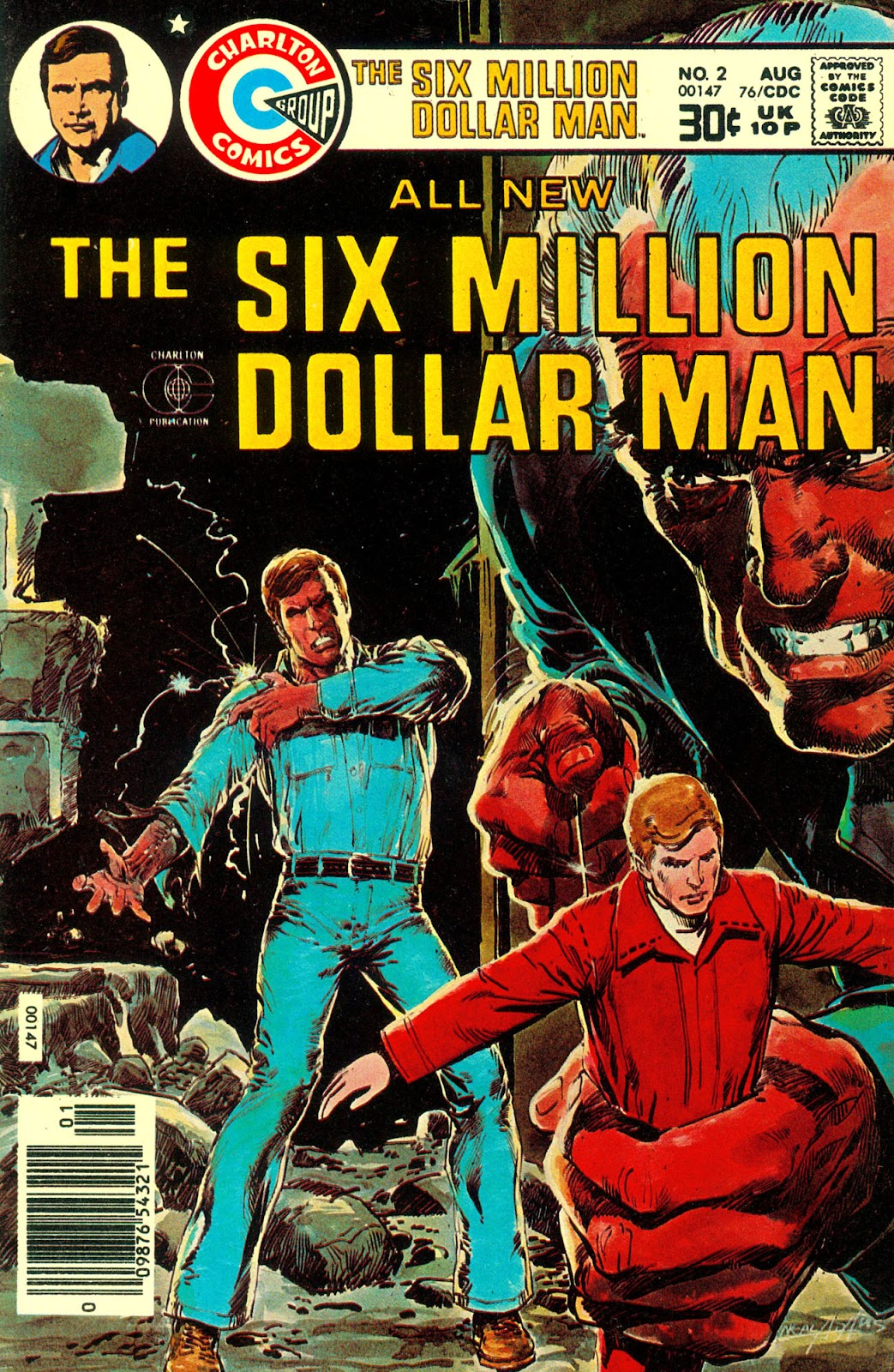The Six Million Dollar Man [comic] issue 2 - Page 1