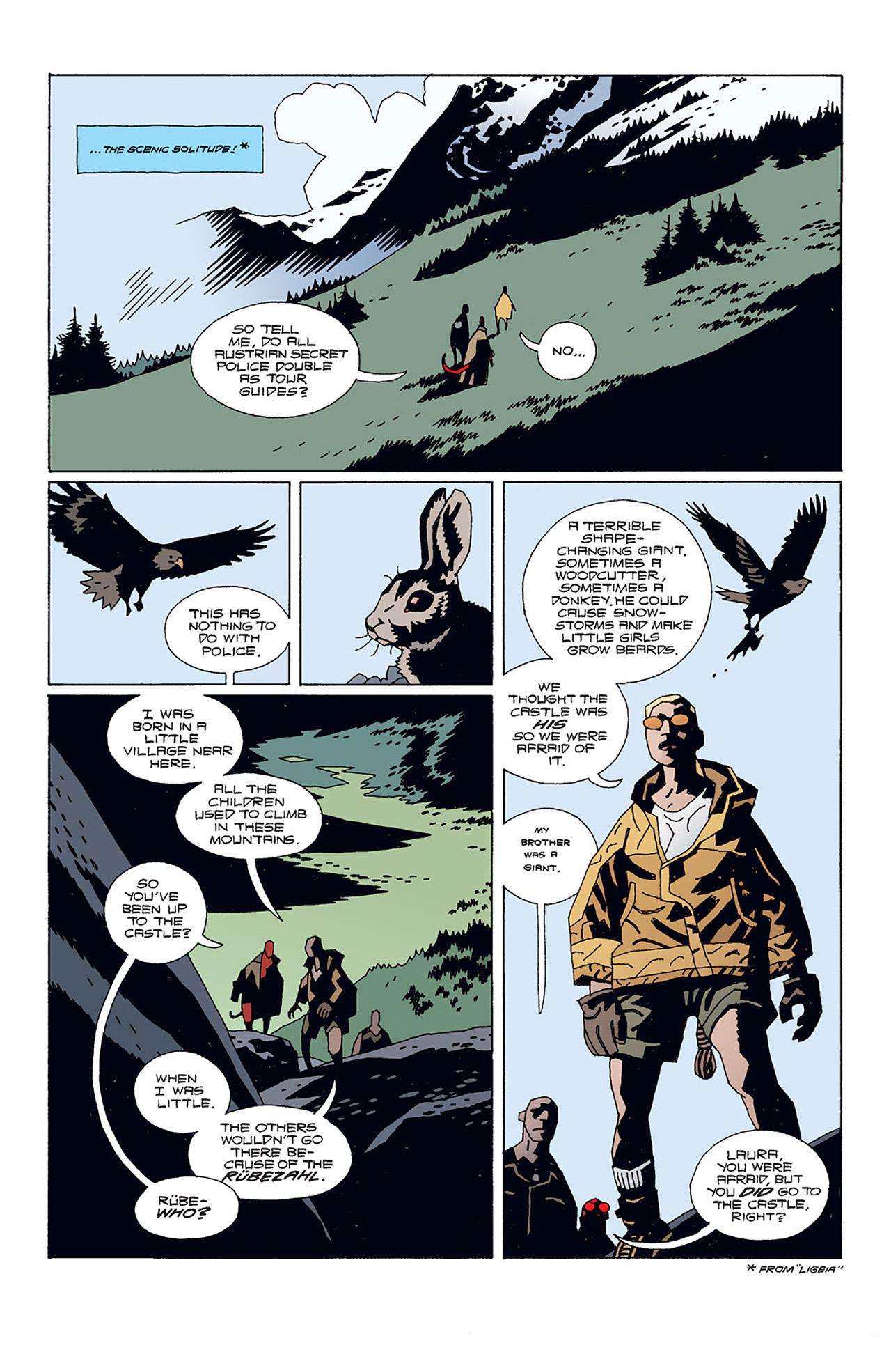 Read online Hellboy: Conqueror Worm comic -  Issue #1 - 18