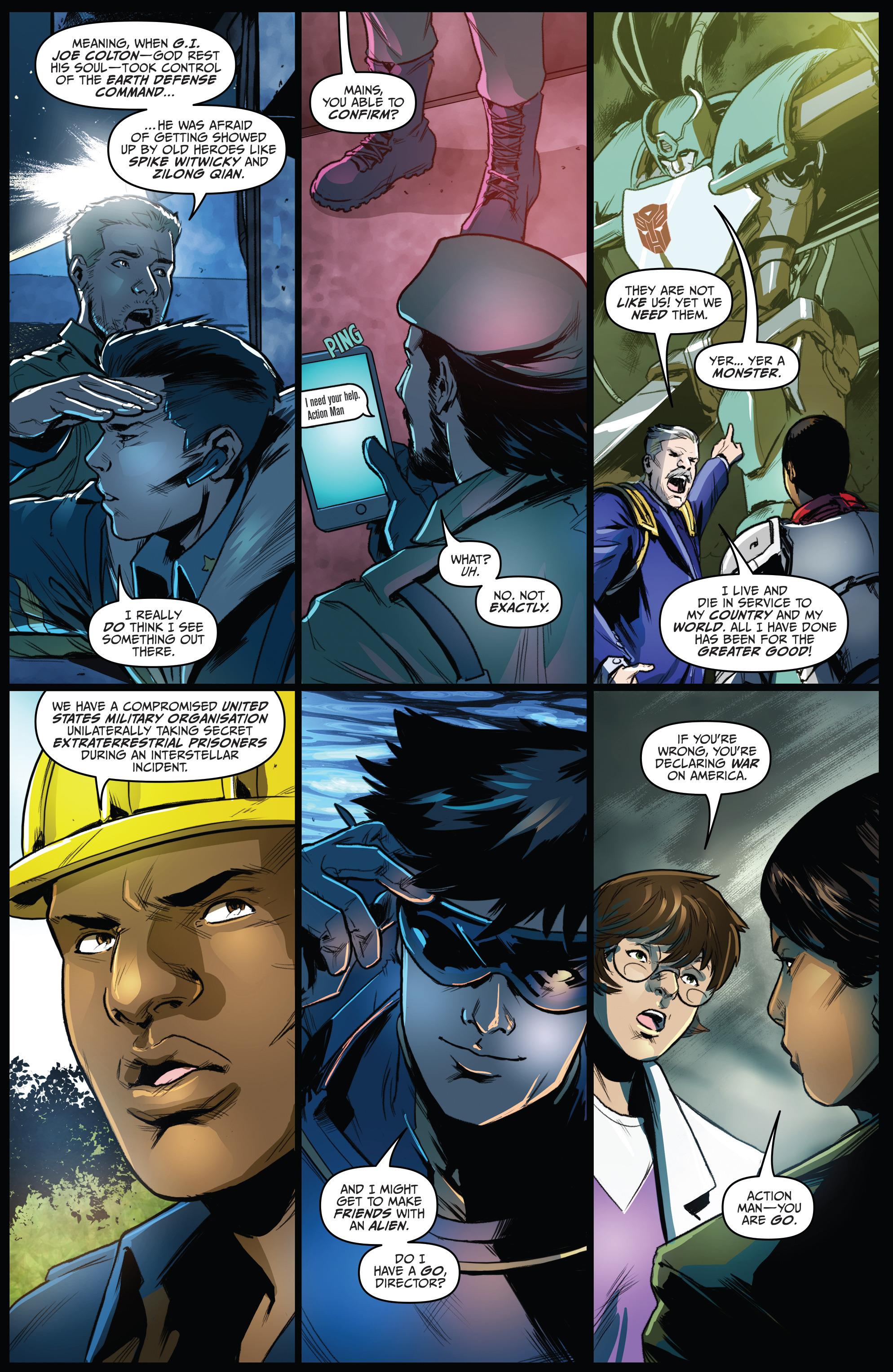 Read online Action Man: Revolution comic -  Issue #Action Man: Revolution Full - 7