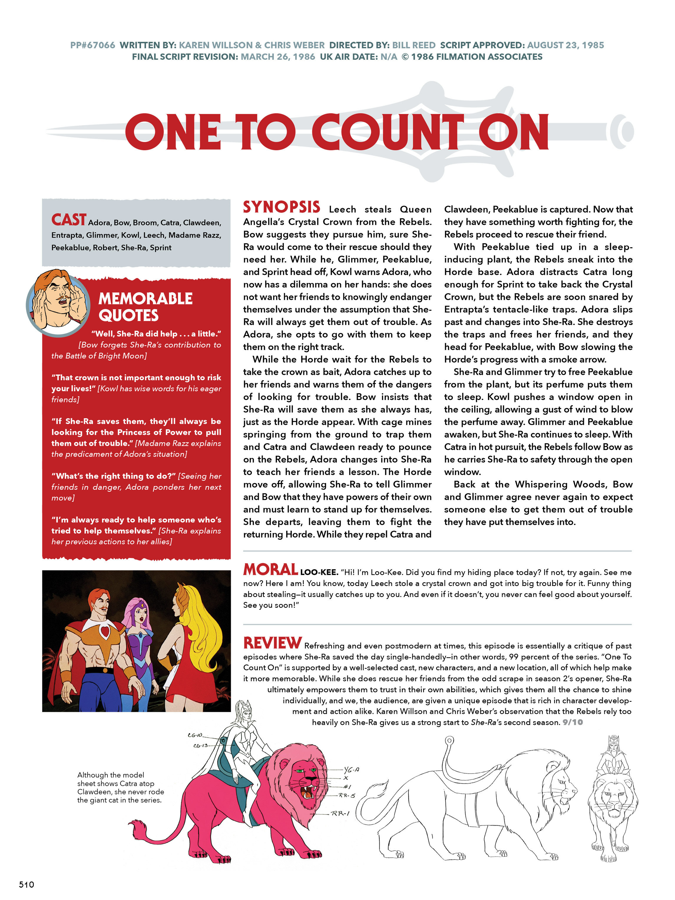 Read online He-Man and She-Ra: A Complete Guide to the Classic Animated Adventures comic -  Issue # TPB (Part 3) - 110