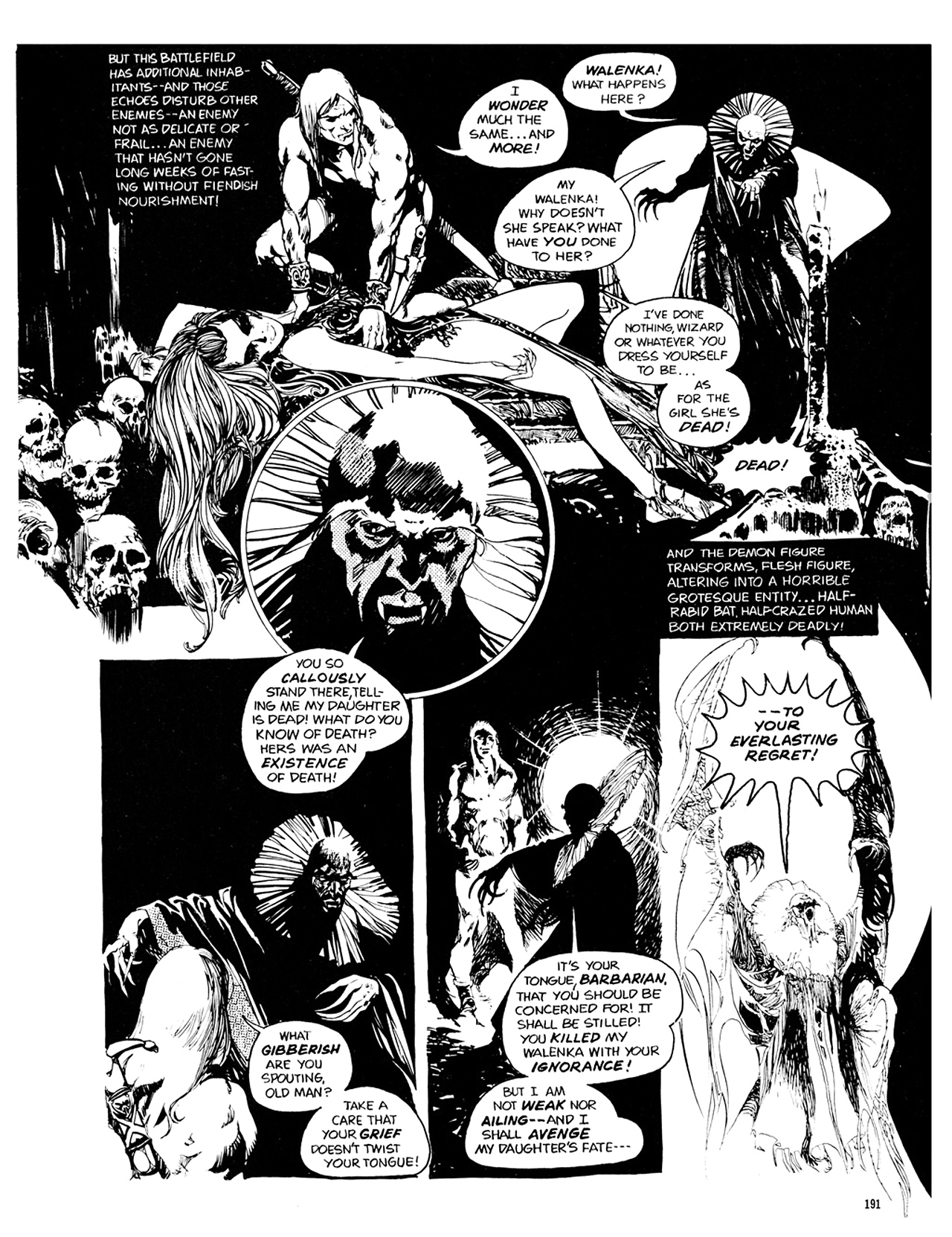 Read online Eerie Archives comic -  Issue # TPB 10 - 192