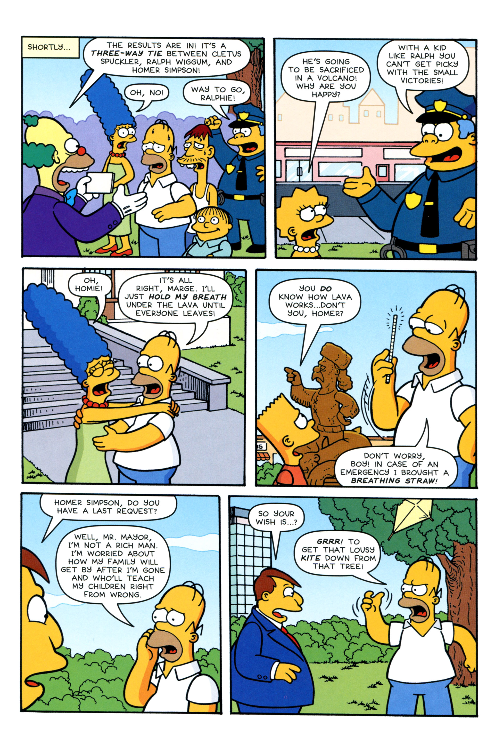 Read online Simpsons Comics comic -  Issue #206 - 17