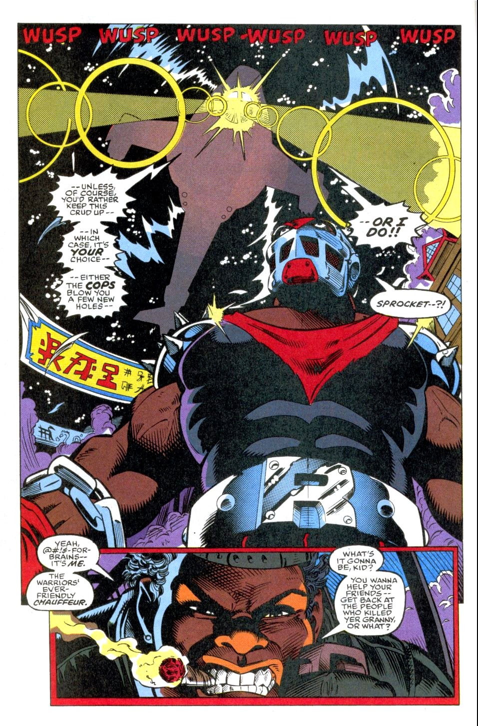 The New Warriors Issue #38 #42 - English 6