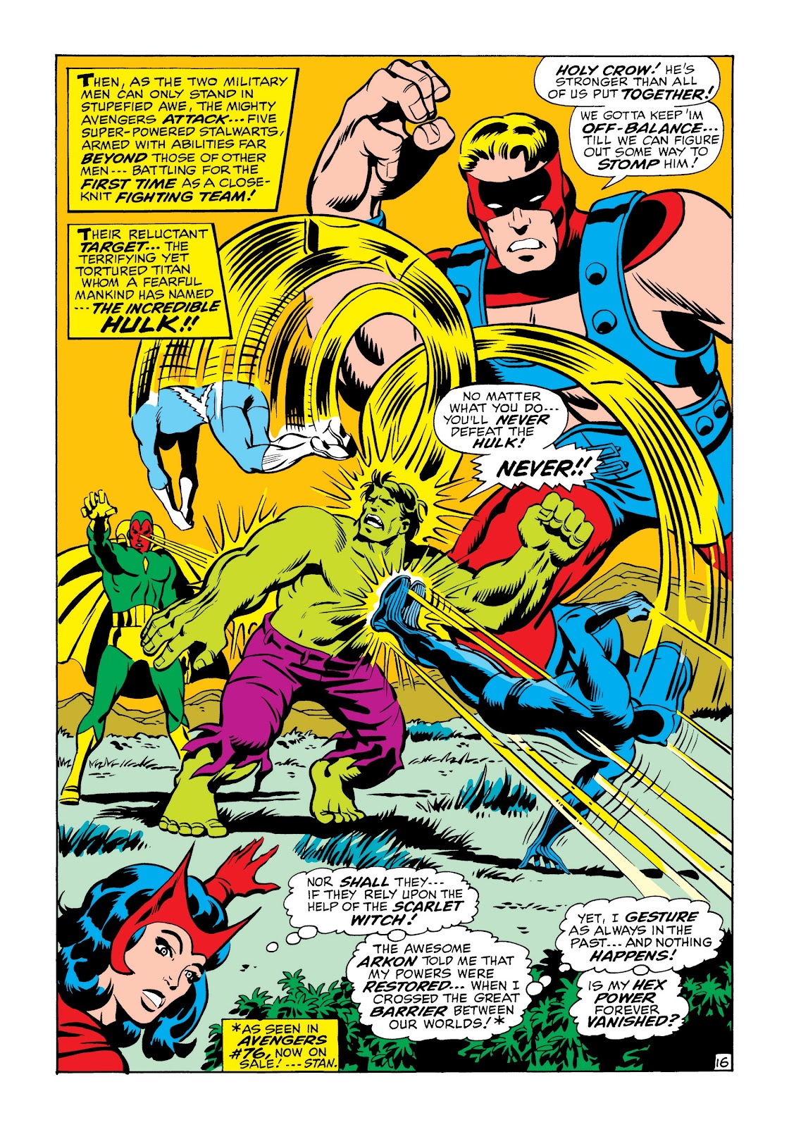 Read online Marvel Masterworks: The Incredible Hulk comic -  Issue # TPB 6 (Part 2) - 49