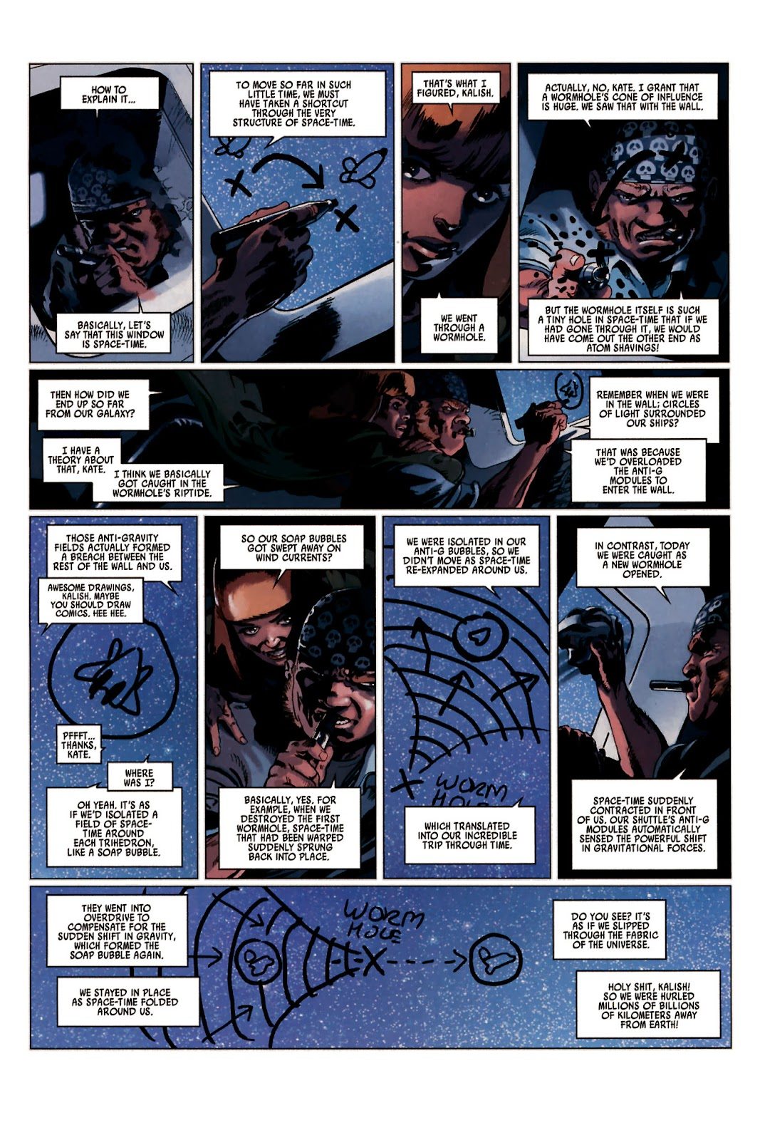 Read online Universal War One: Revelations comic -  Issue #2 - 11