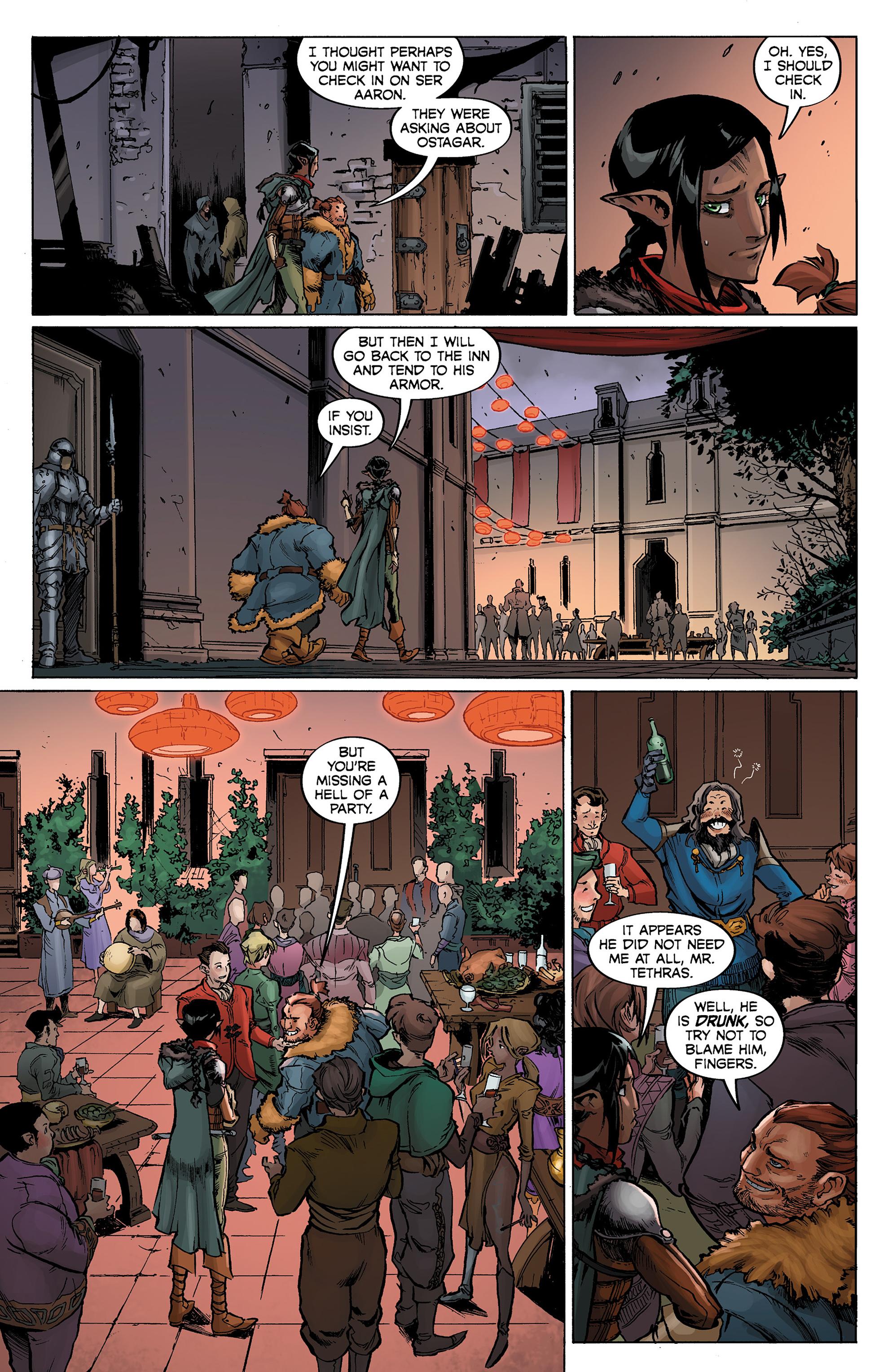 Read online Dragon Age: Knight Errant comic -  Issue #1 - 18