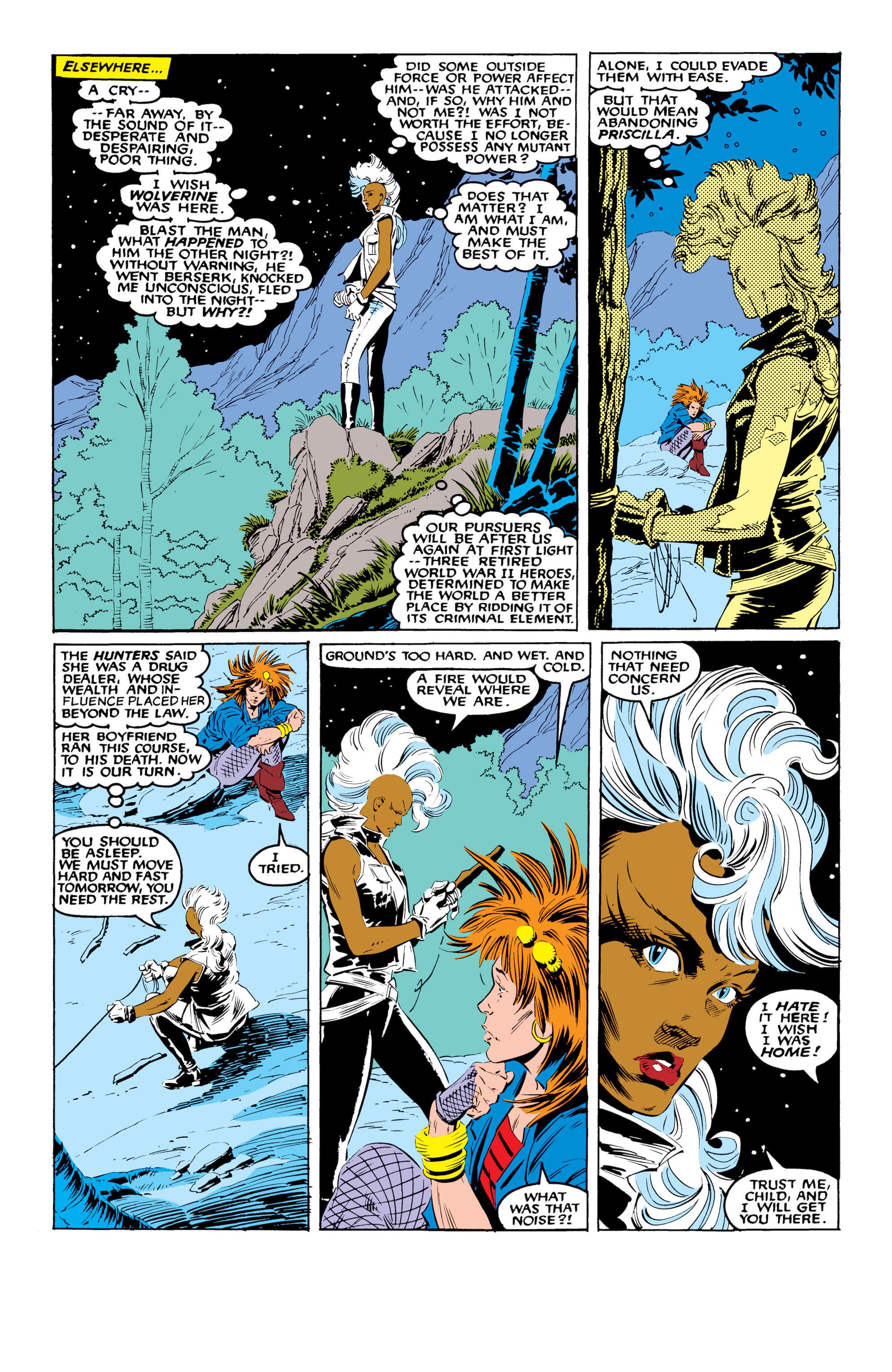 Read online Uncanny X-Men (1963) comic -  Issue #216 - 5