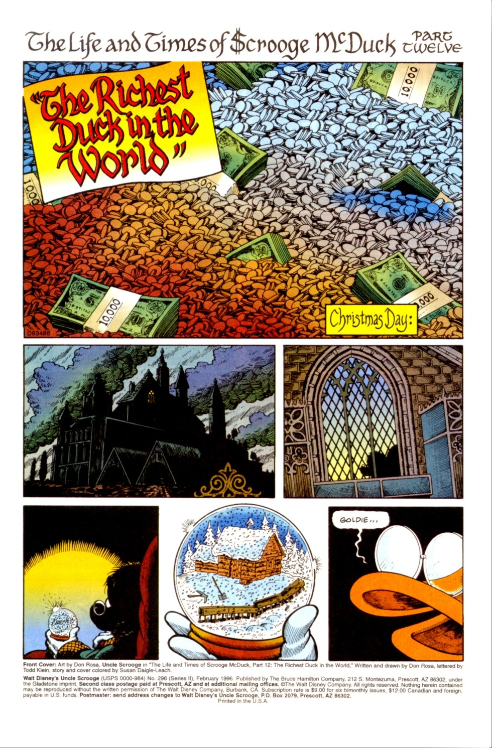 Read online Uncle Scrooge (1953) comic -  Issue #296 - 2