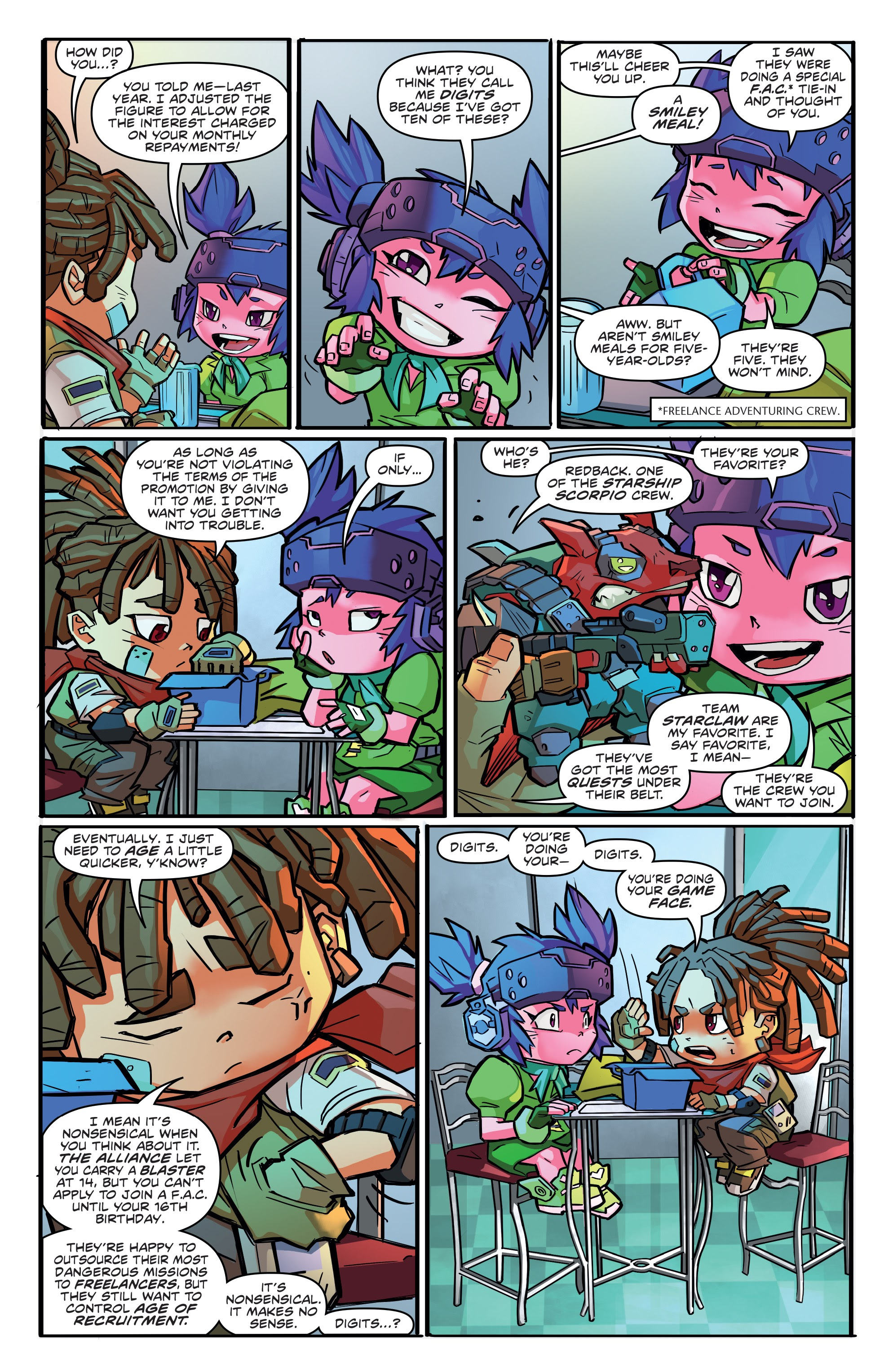 Read online Starcadia Quest comic -  Issue #1 - 8