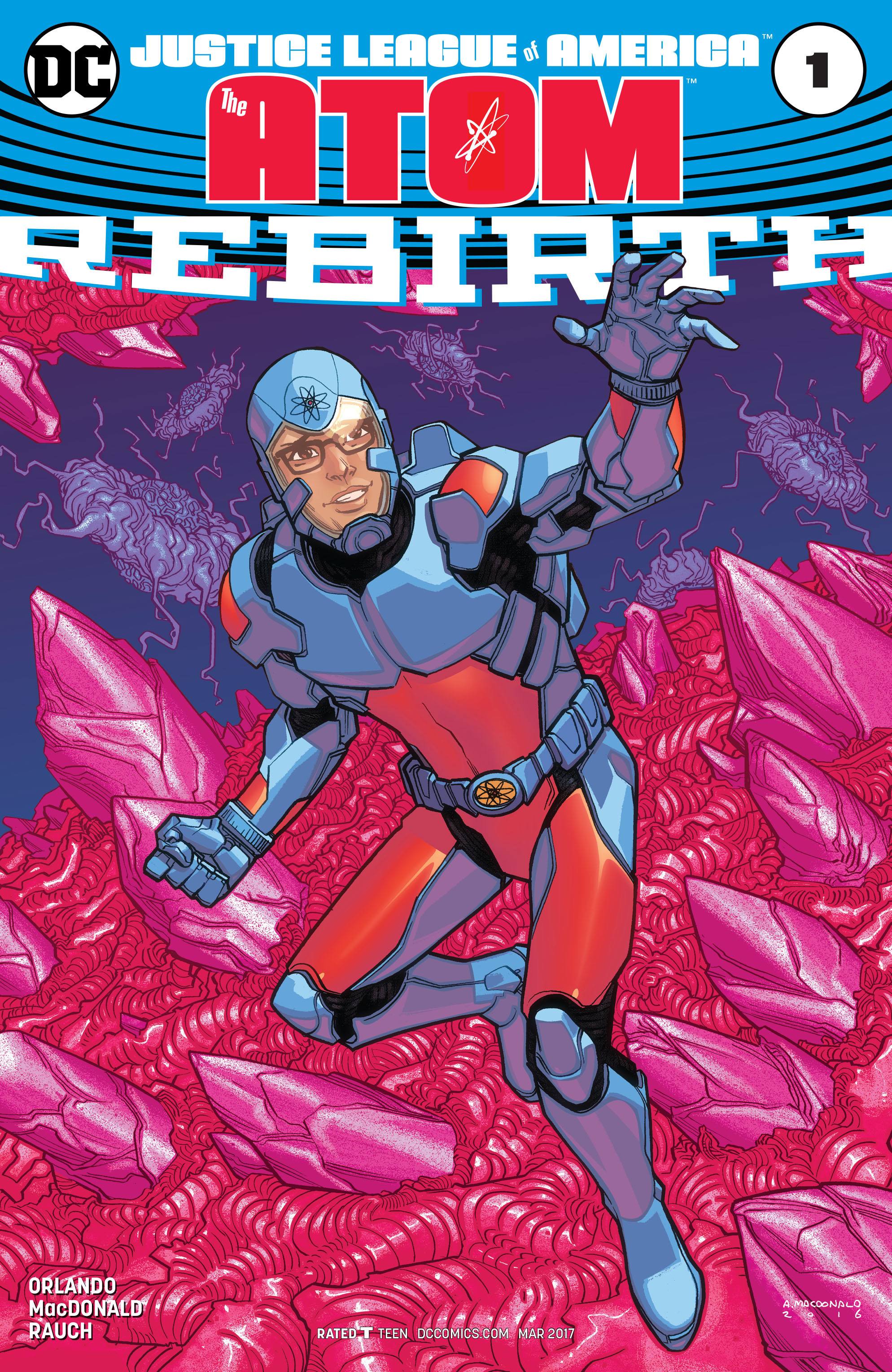 Read online Justice League of America: The Atom Rebirth comic -  Issue # Full - 3