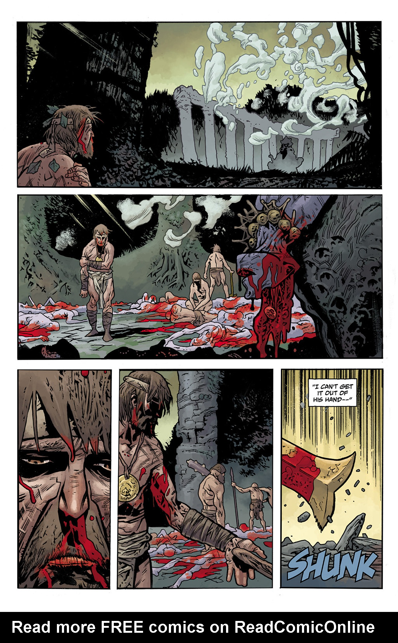 Read online B.P.R.D. Hell on Earth: The Abyss of Time comic -  Issue #104 - 21