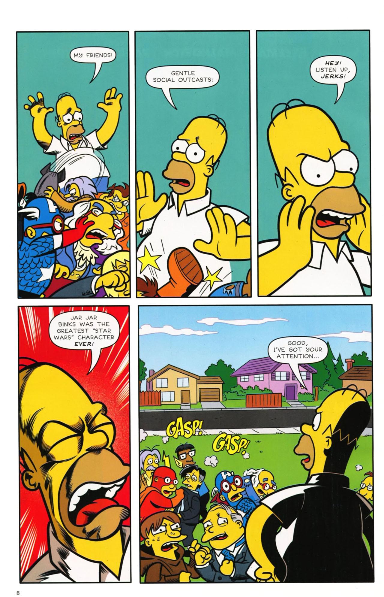 Read online Bongo Comics presents Comic Book Guy: The Comic Book comic -  Issue #3 - 7