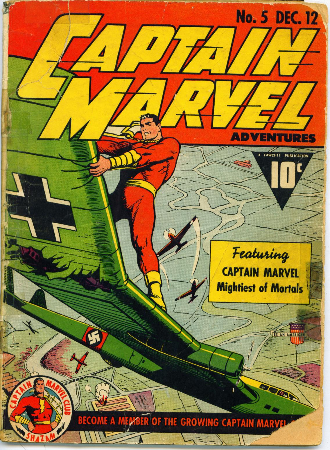 Captain Marvel Adventures 5 Page 1