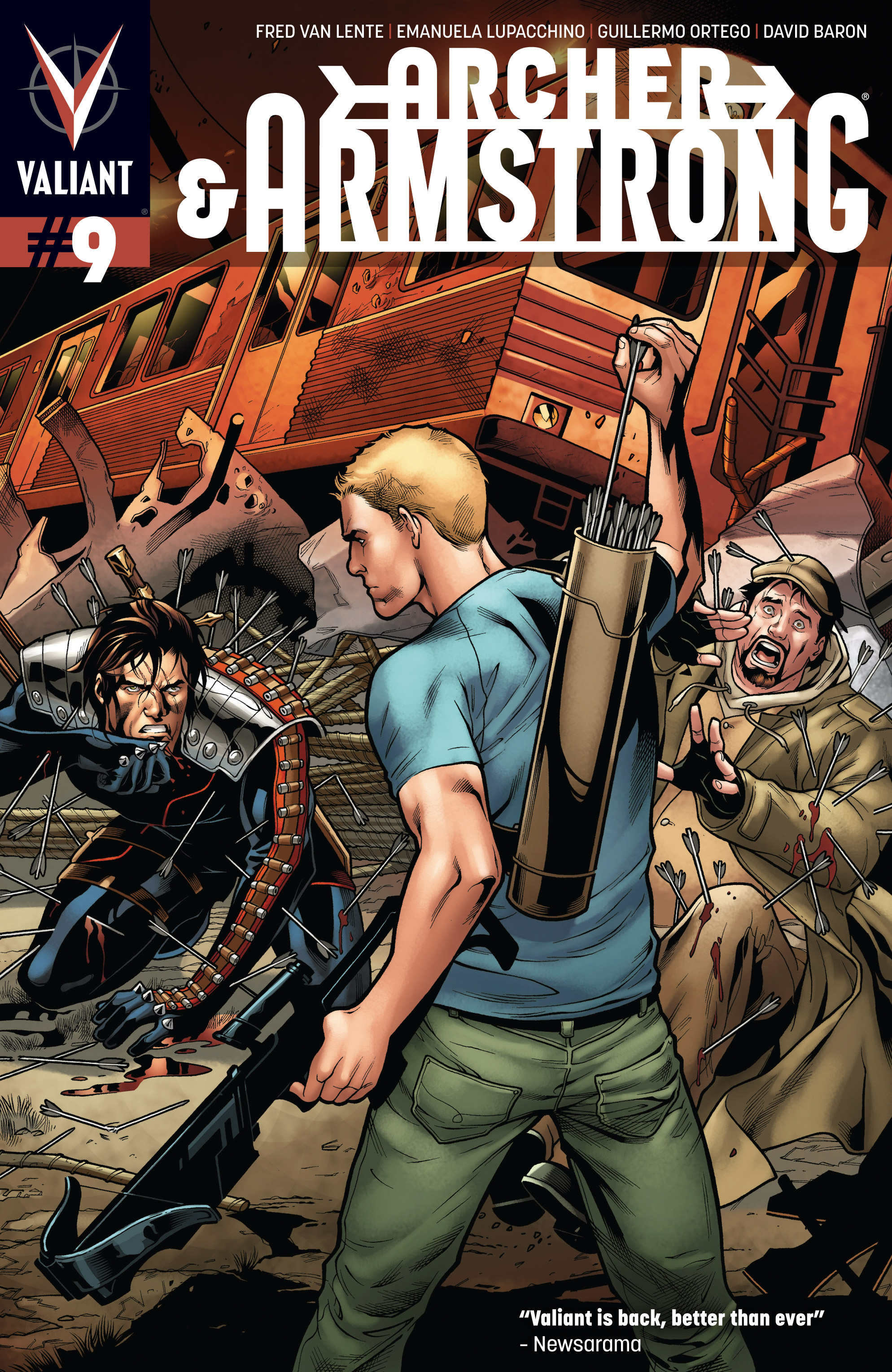 Read online Archer and Armstrong comic -  Issue #9 - 1