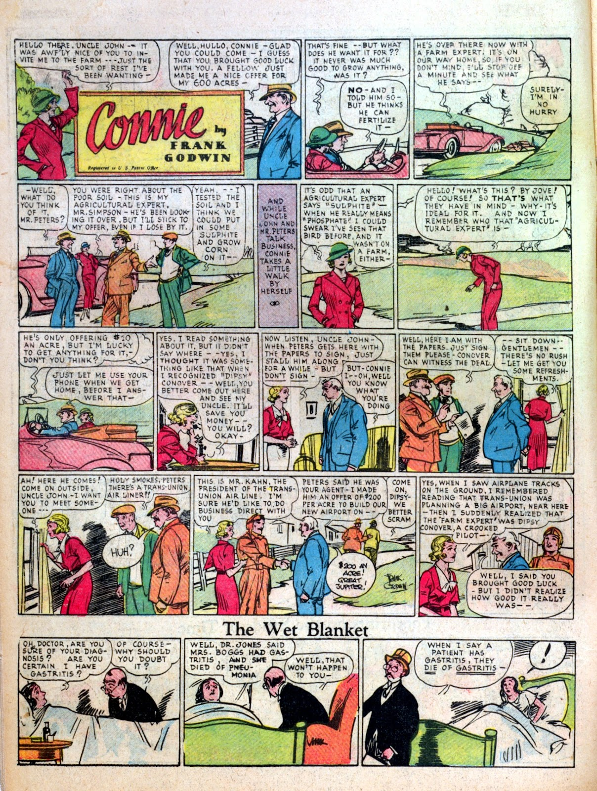 Read online Famous Funnies comic -  Issue #7 - 16
