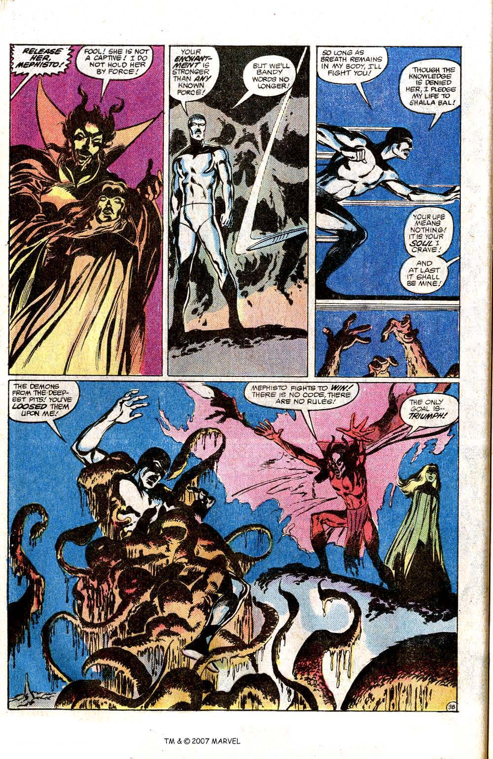 Read online Silver Surfer (1982) comic -  Issue # Full - 40