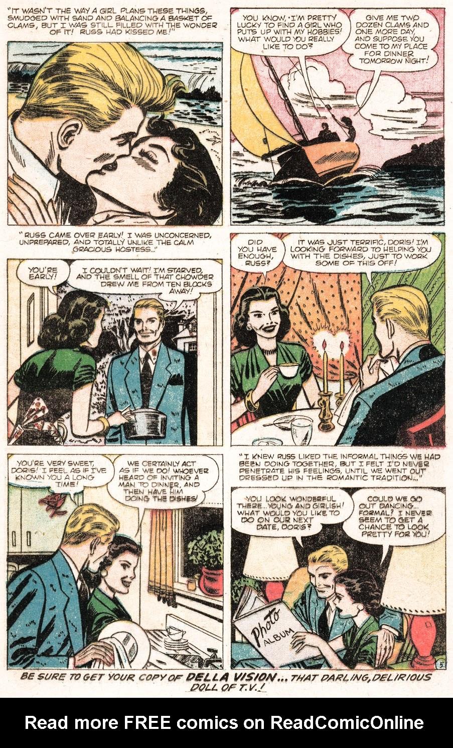Love Romances (1949) issue 51 - Page 15