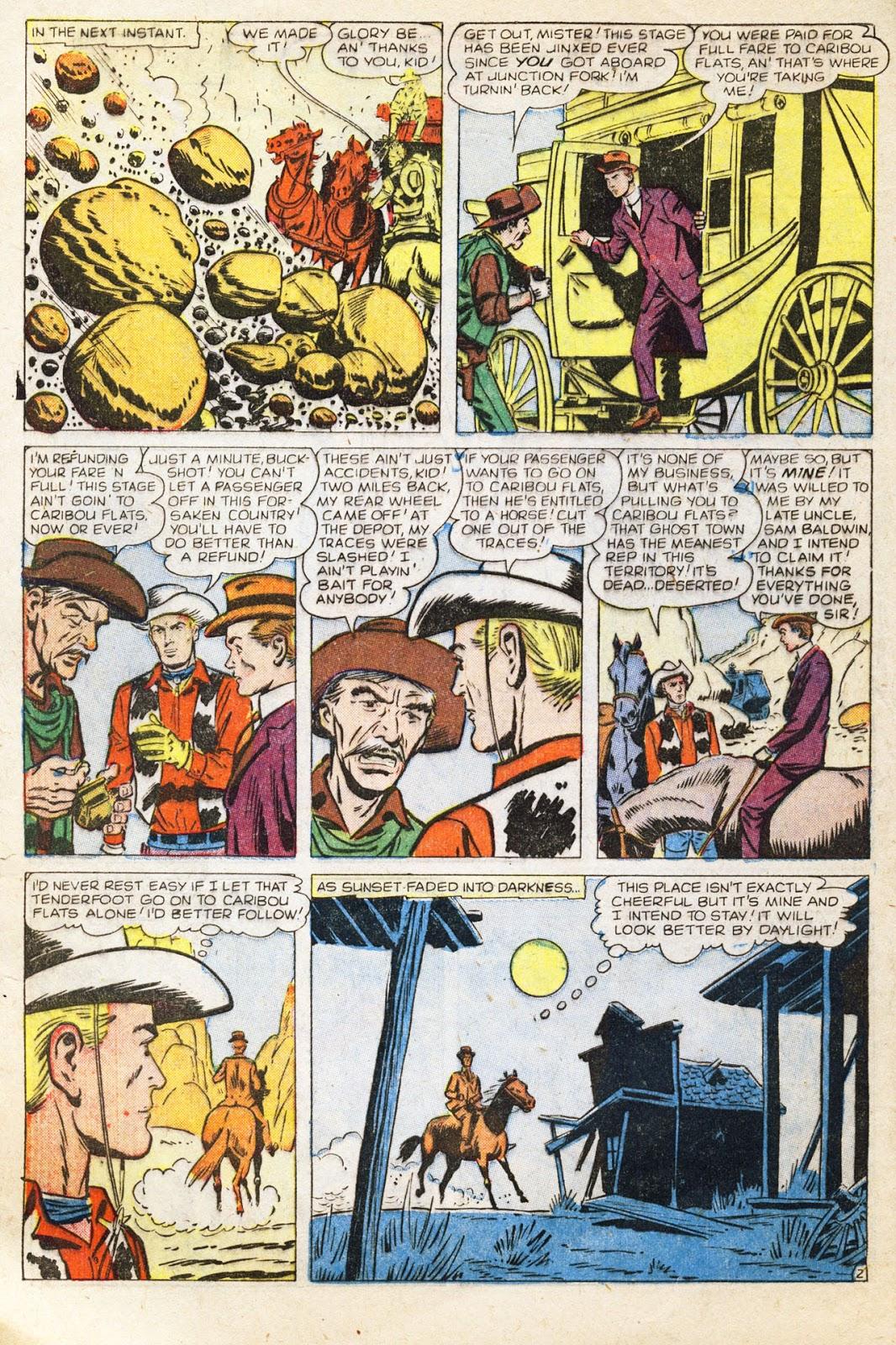 Gunsmoke Western issue 38 - Page 4