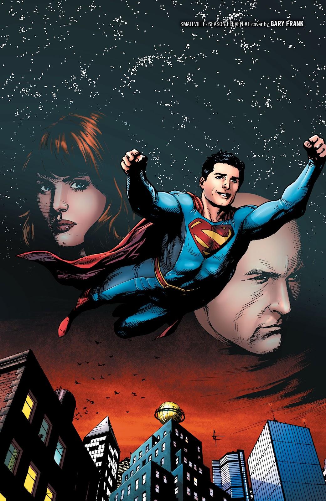 Read online Smallville Season 11 [II] comic -  Issue # TPB 1 - 5