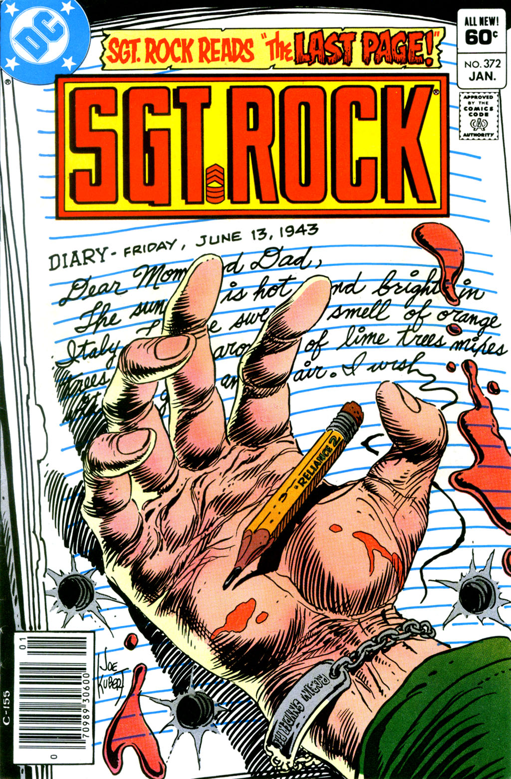 Sgt. Rock issue 372 - Page 1