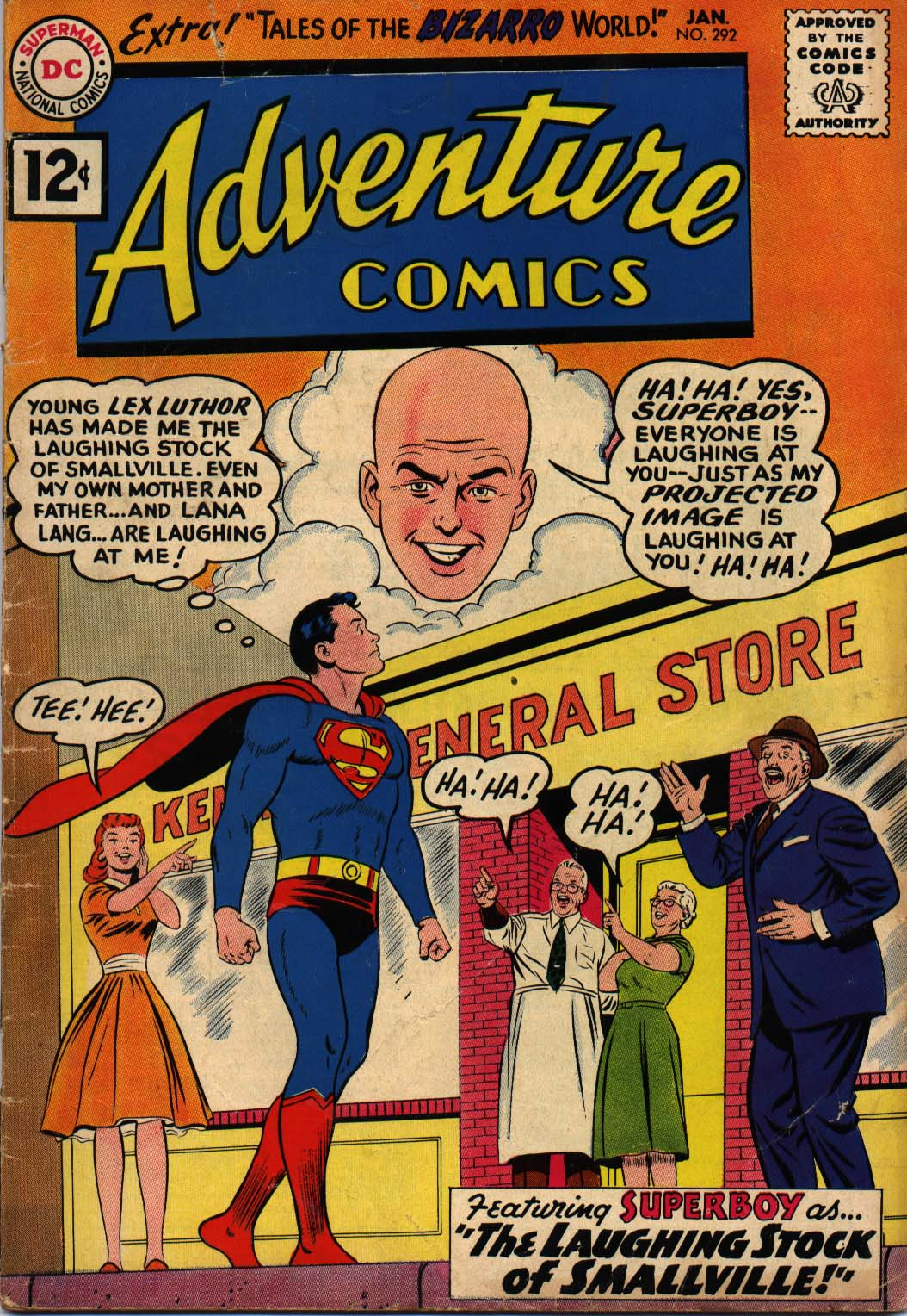 Read online Adventure Comics (1938) comic -  Issue #292 - 1
