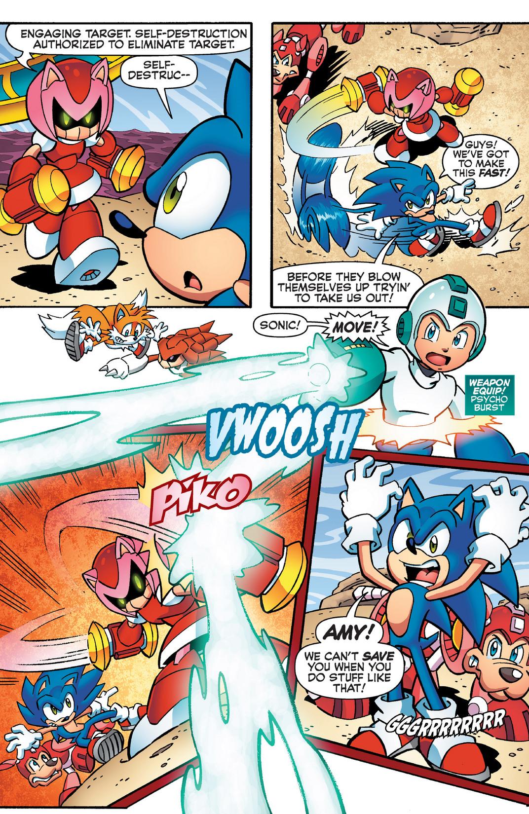 Read online Sonic Mega Man Worlds Collide comic -  Issue # Vol 2 - 90