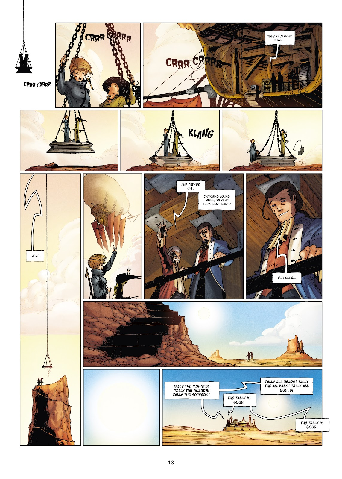 Read online Chronicles of the Dragon Knights comic -  Issue #19 - 13