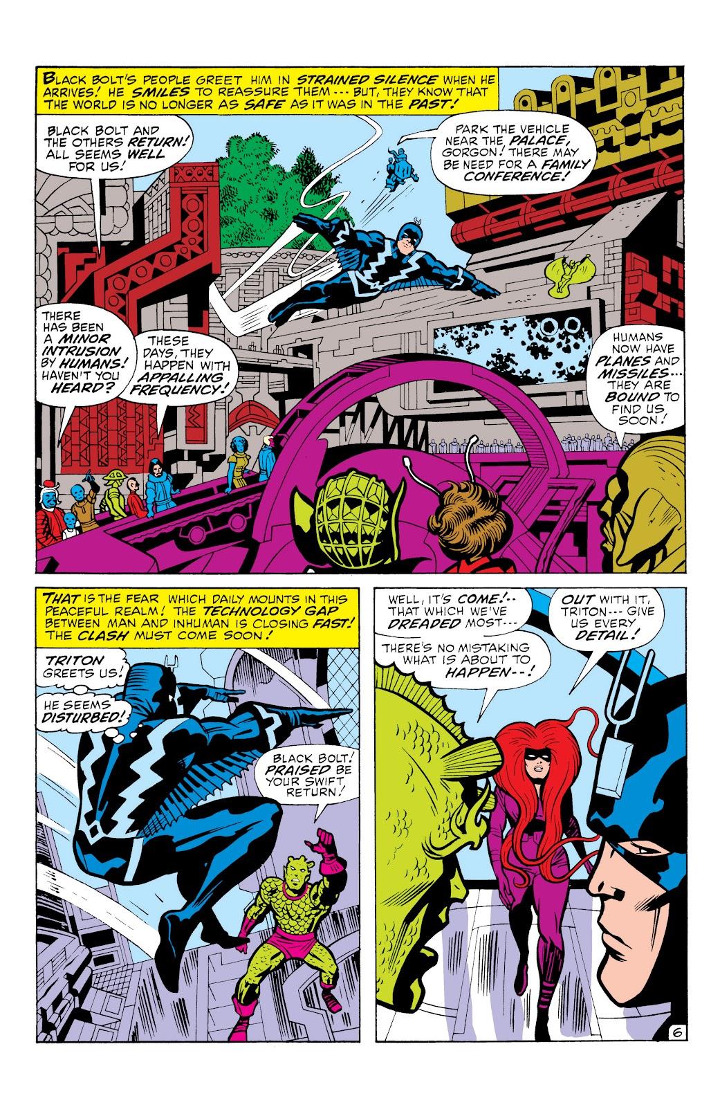 Read online Marvel Masterworks: The Inhumans comic -  Issue # TPB 1 (Part 1) - 75