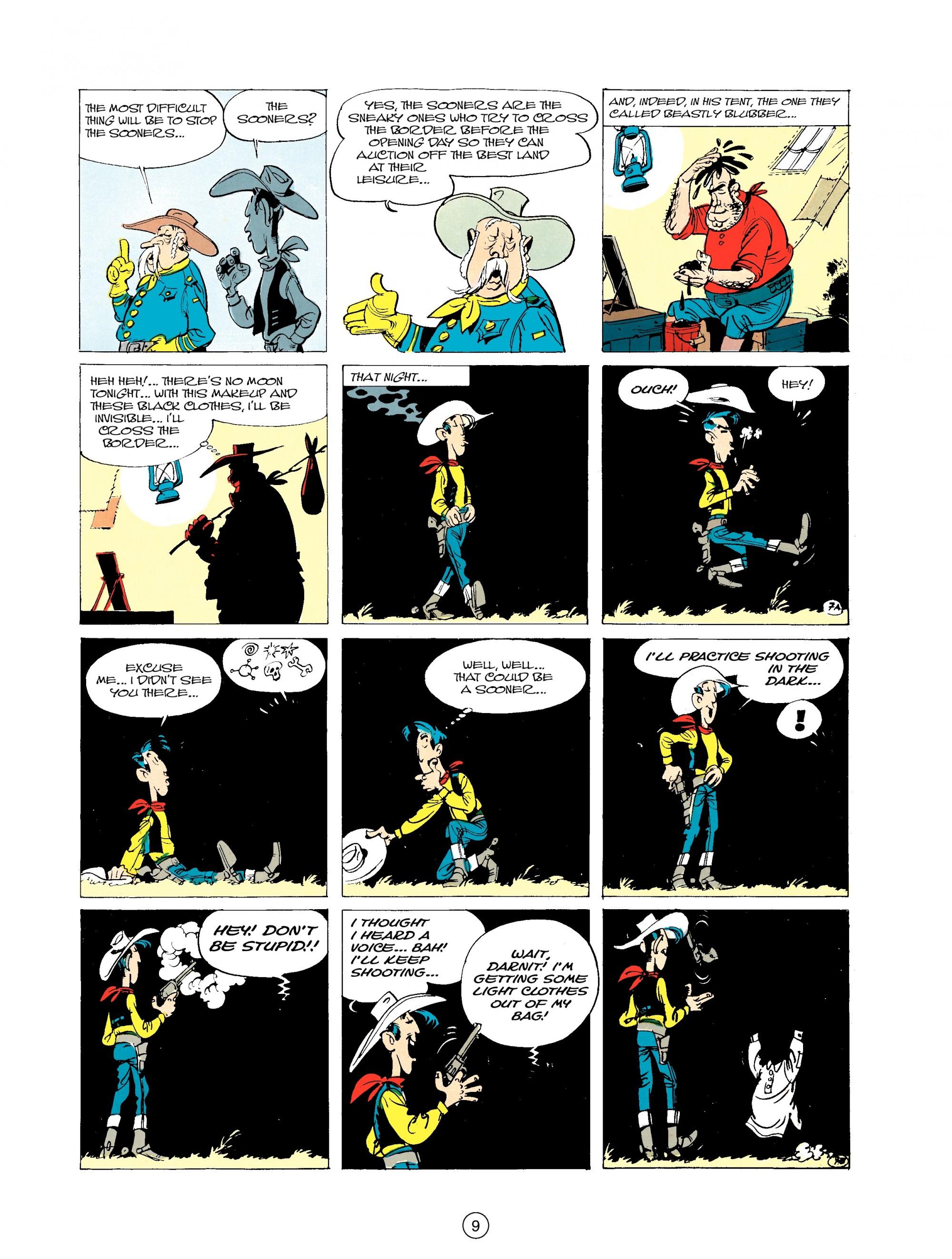 Read online A Lucky Luke Adventure comic -  Issue #20 - 9