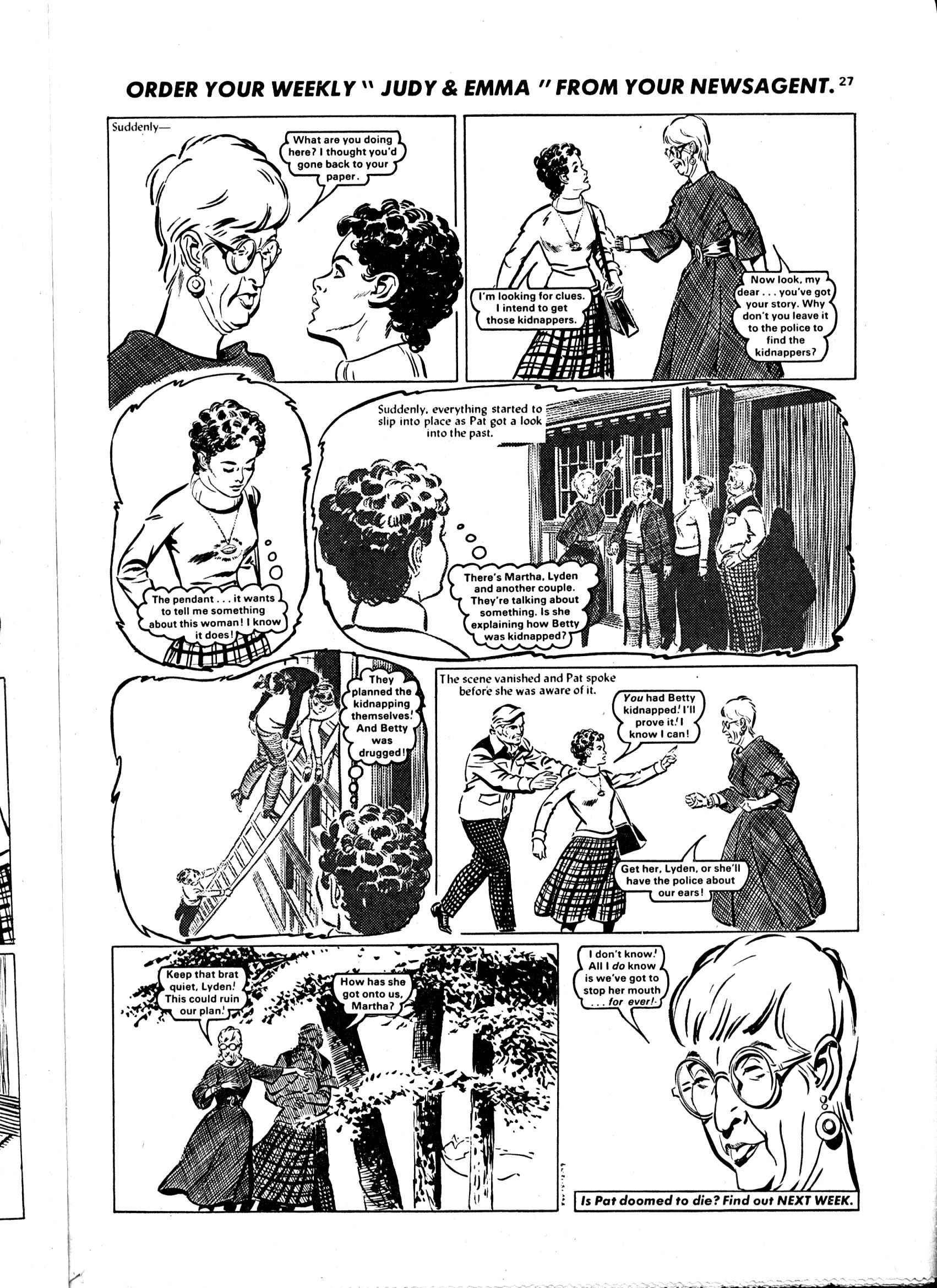 Read online Judy comic -  Issue #1040 - 27