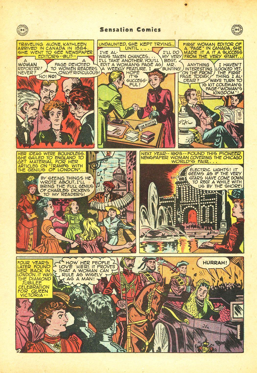 Read online Sensation (Mystery) Comics comic -  Issue #86 - 32